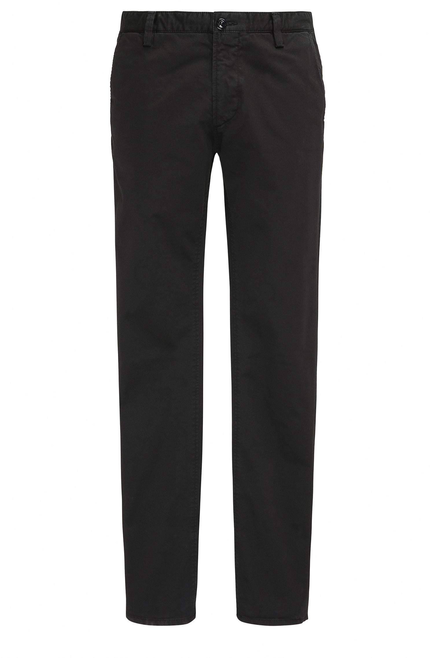 Pantalon Slim Fit en coton extensible : « C-Rice1-D »