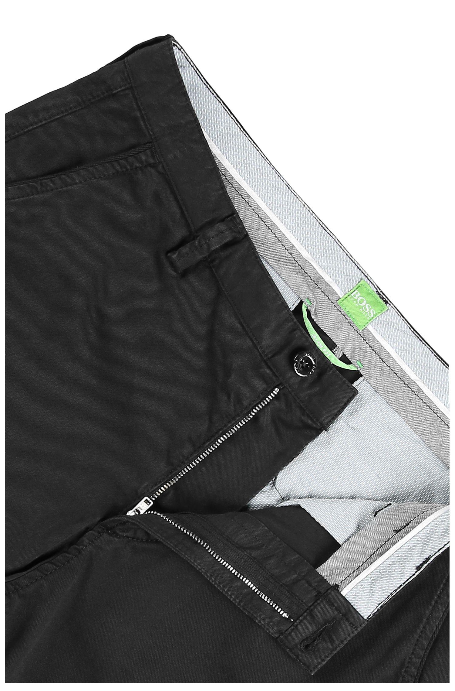 Slim-Fit Hose aus elastischer Baumwolle: ´C-Rice1-D`