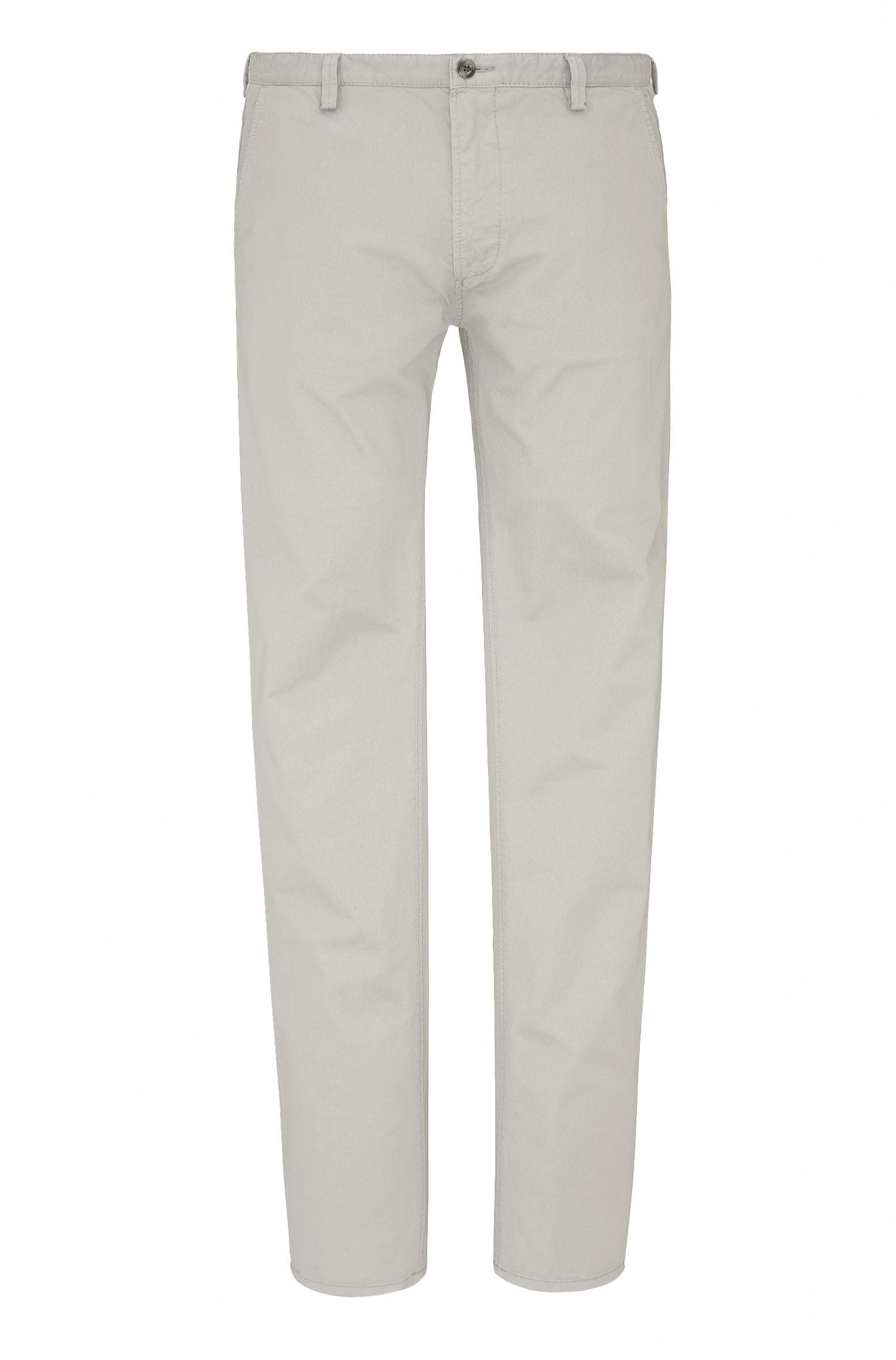 Pantalon Slim Fit en gabardine stretch