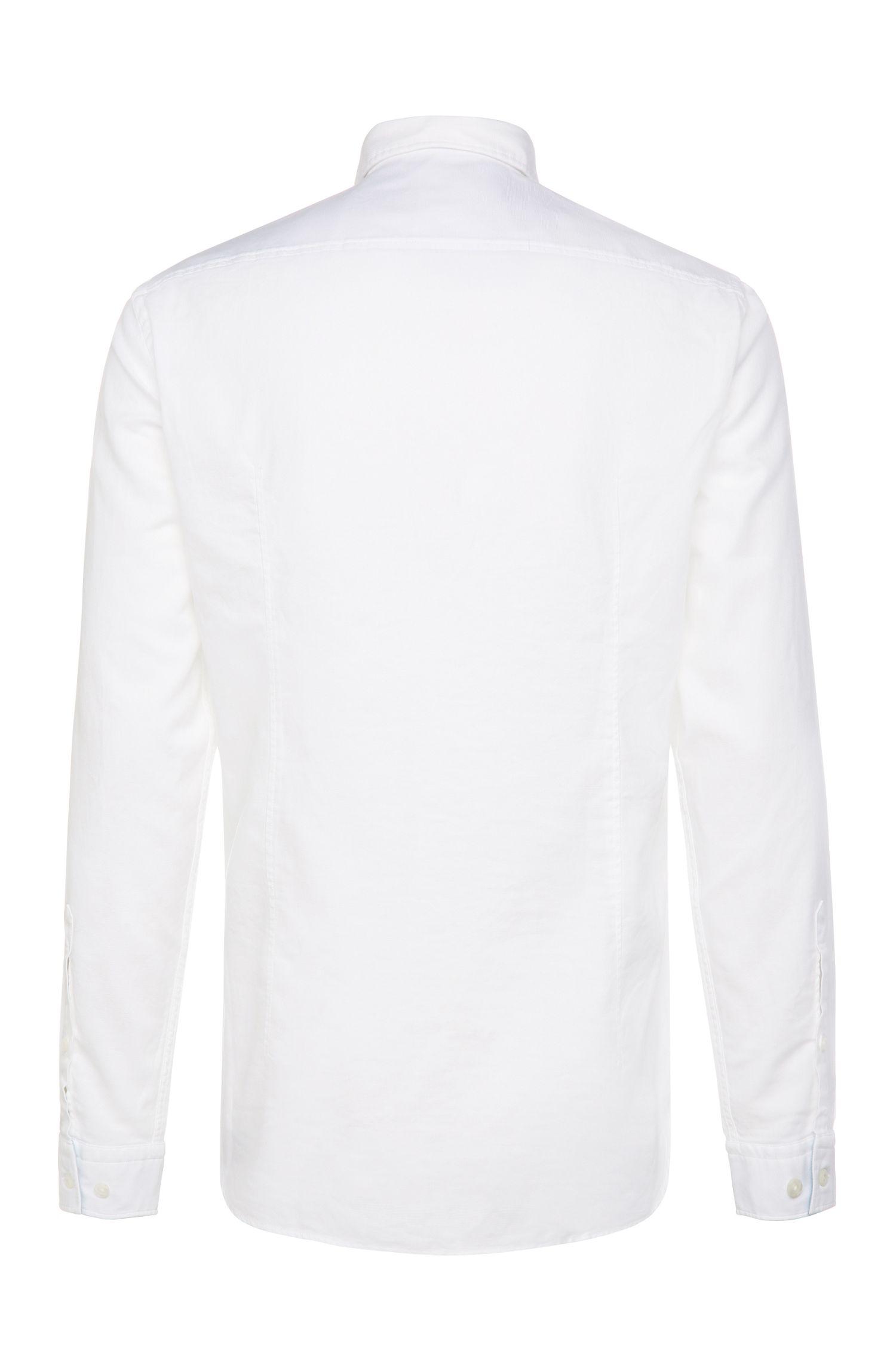 Regular-fit overhemd van katoen: 'C-Buster'