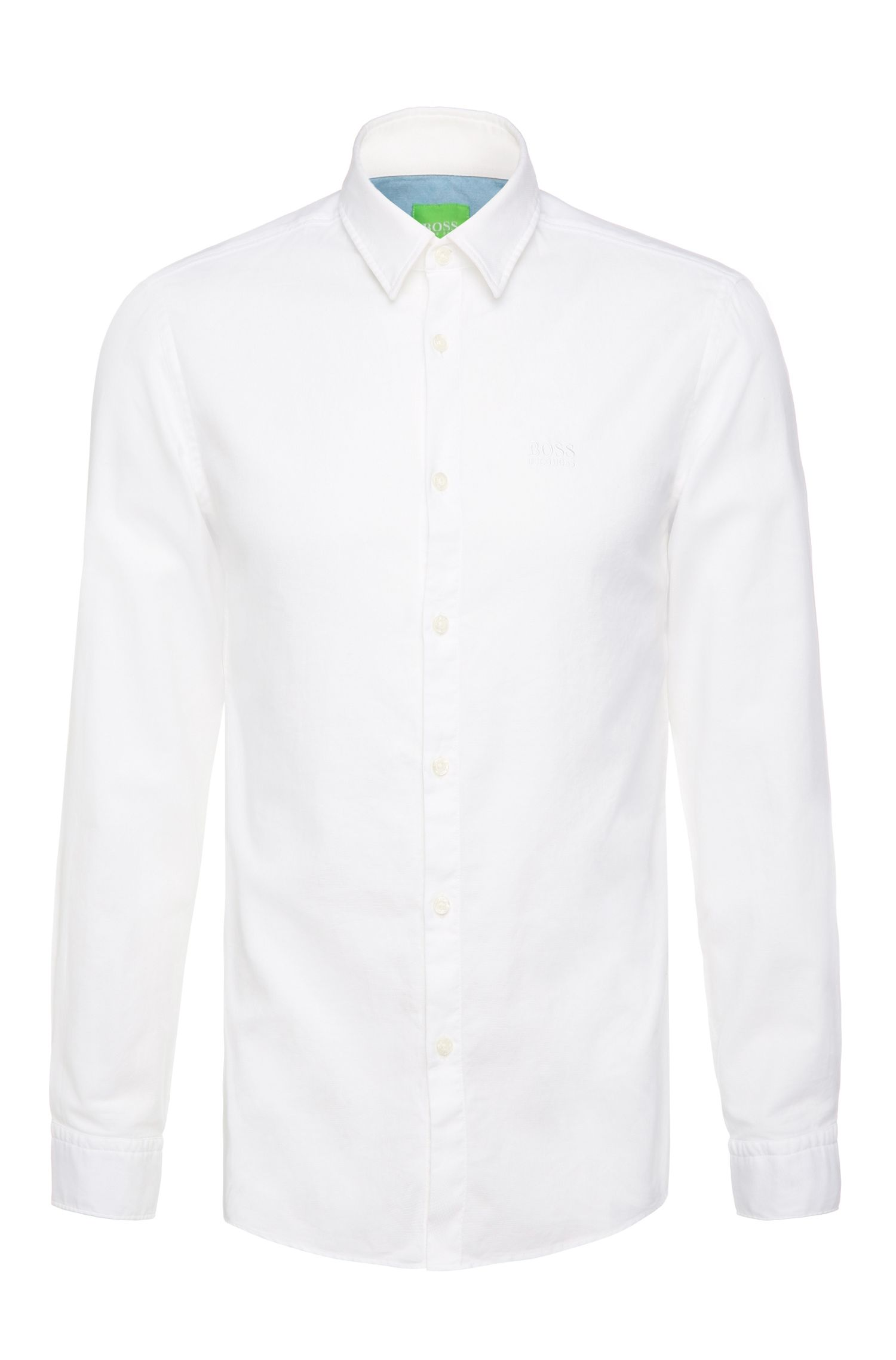 Camisa regular fit de algodón: 'C-Buster'