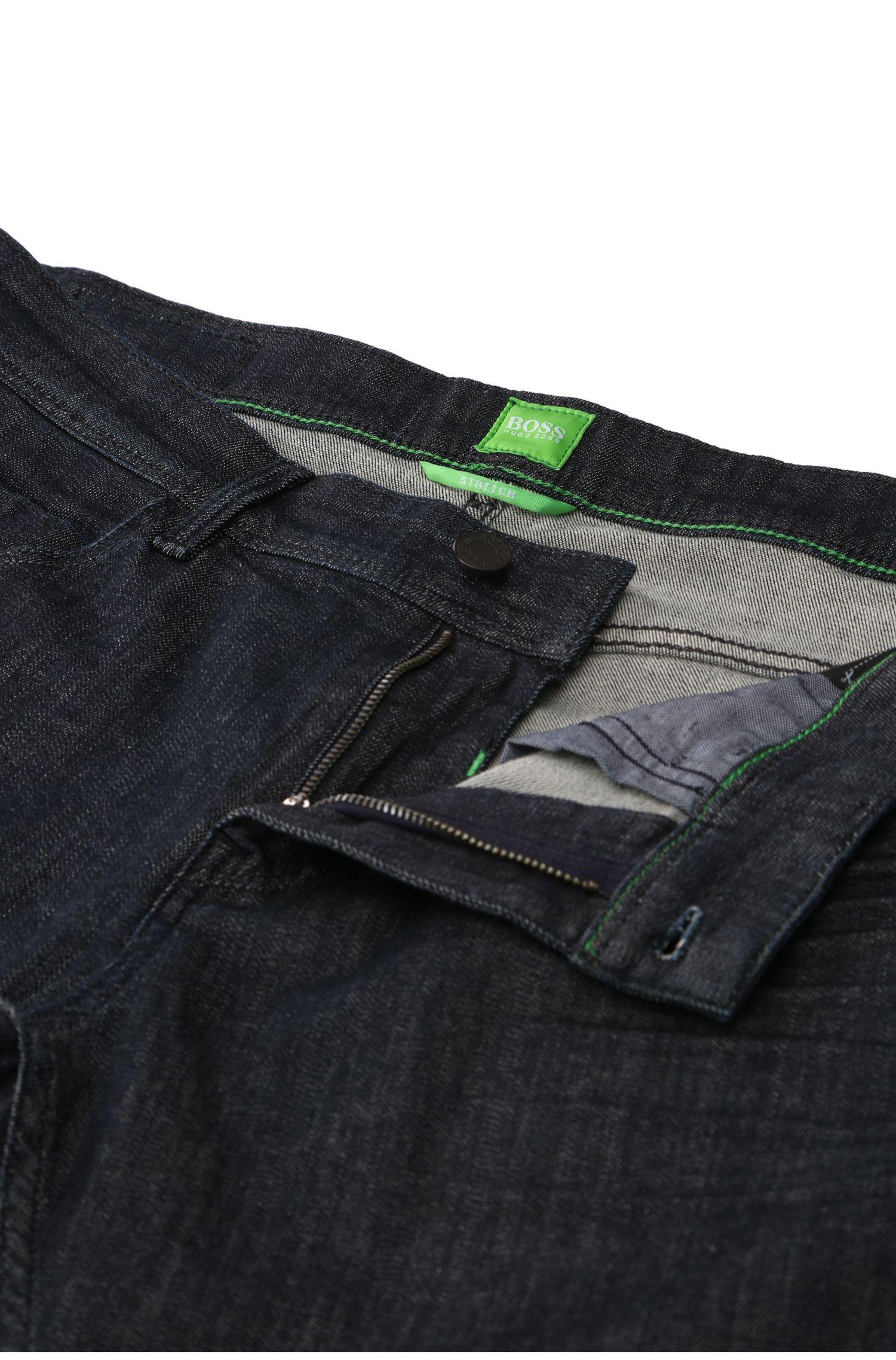 Extra Slim-Fit Jeans aus veredelter Stretch-Baumwolle: ´Dayan`