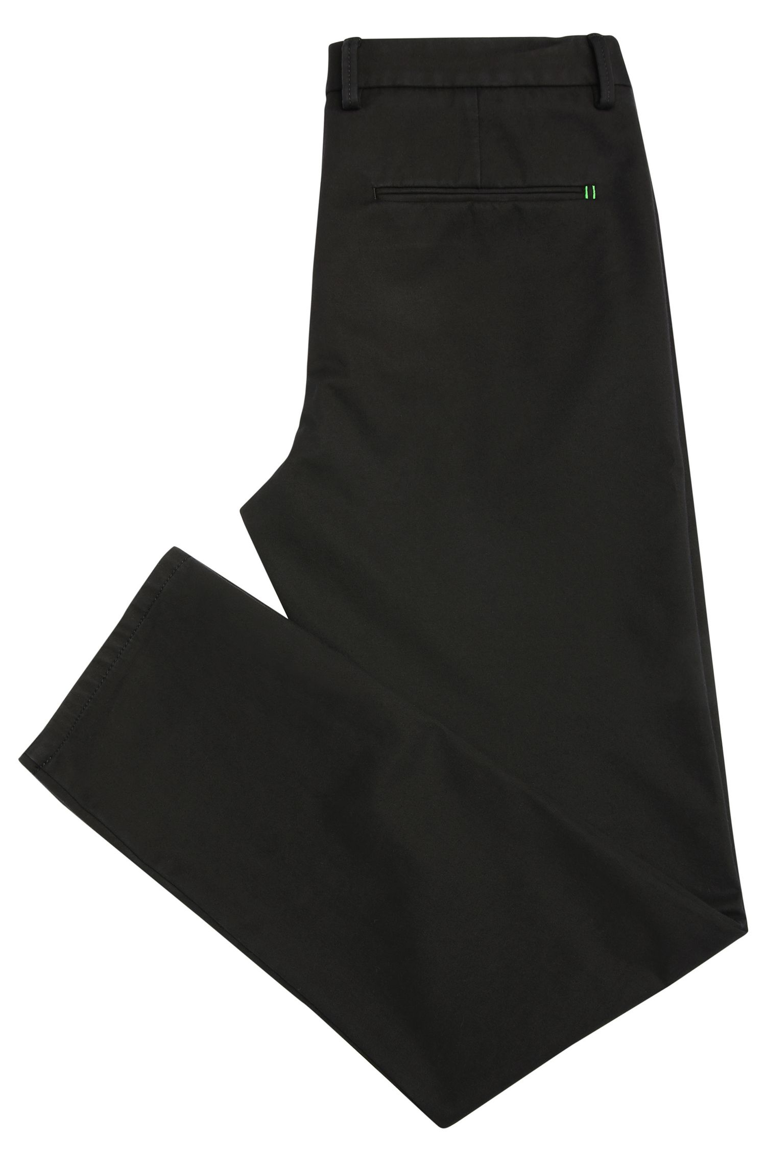 Chino Slim Fit en coton mélangé extensible: «Leeman3-4-W»
