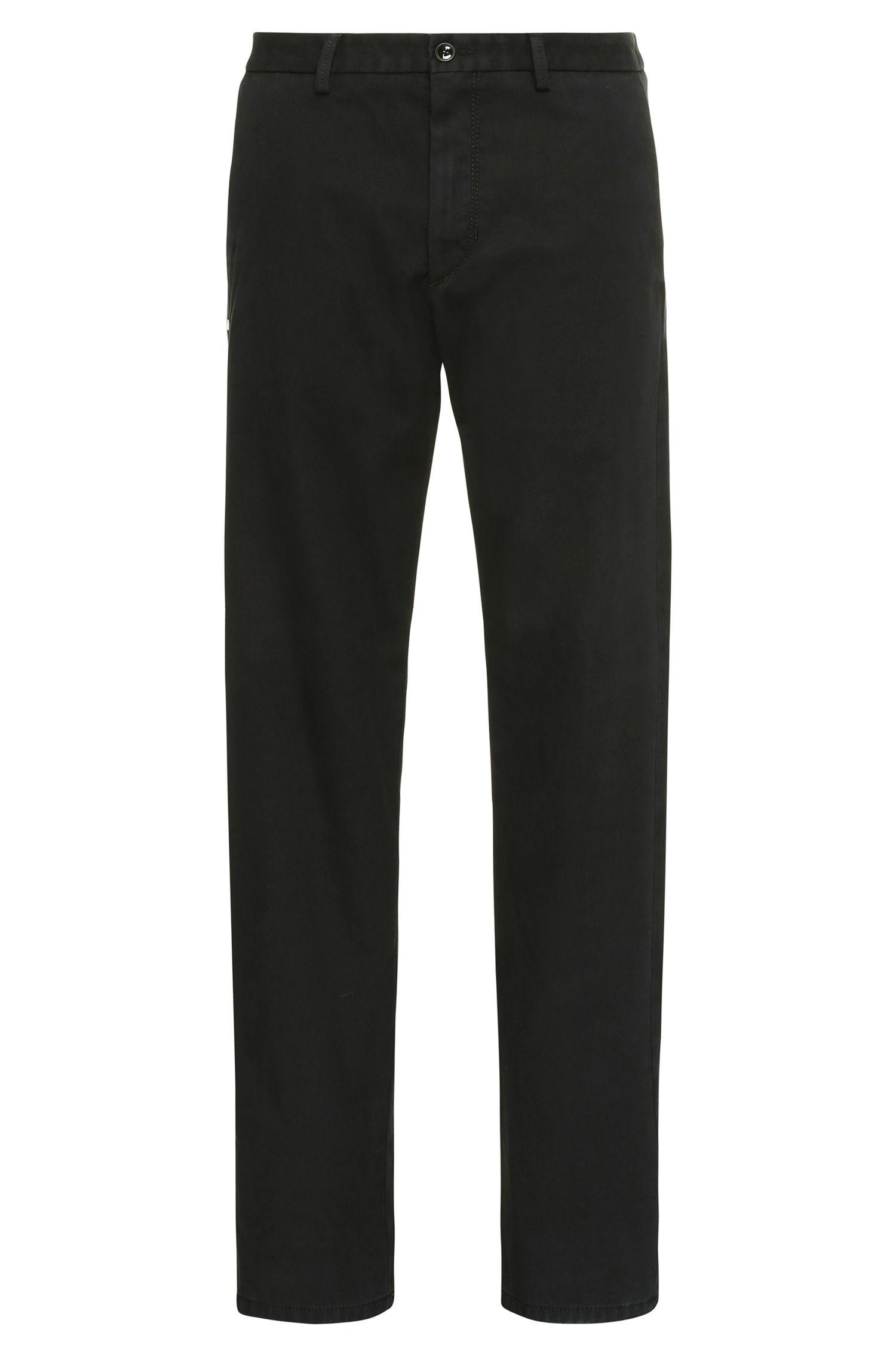 Chino slim fit in misto cotone elasticizzato: 'Leeman3-4-W'