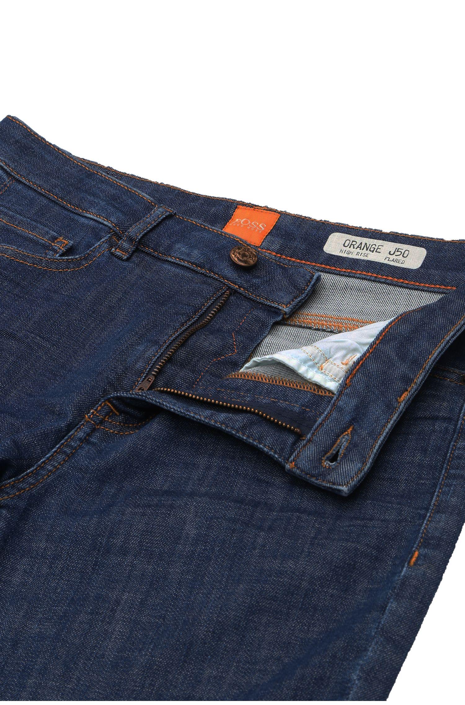 Jeans Flared Leg en coton mélangé à teneur en élasthanne:  «Orange J50 Geneve»