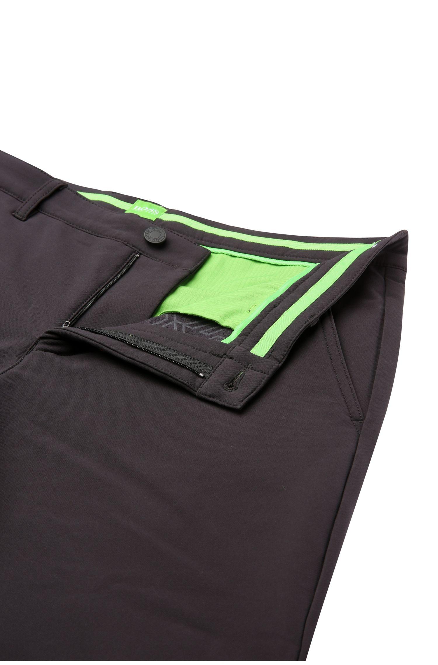 Slim-fit broek van een elastische materiaalmix: 'Hakan 9'