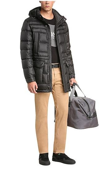 Regular-Fit Hose aus Stretch-Baumwolle: ´C-Maine1-1-20`, Beige