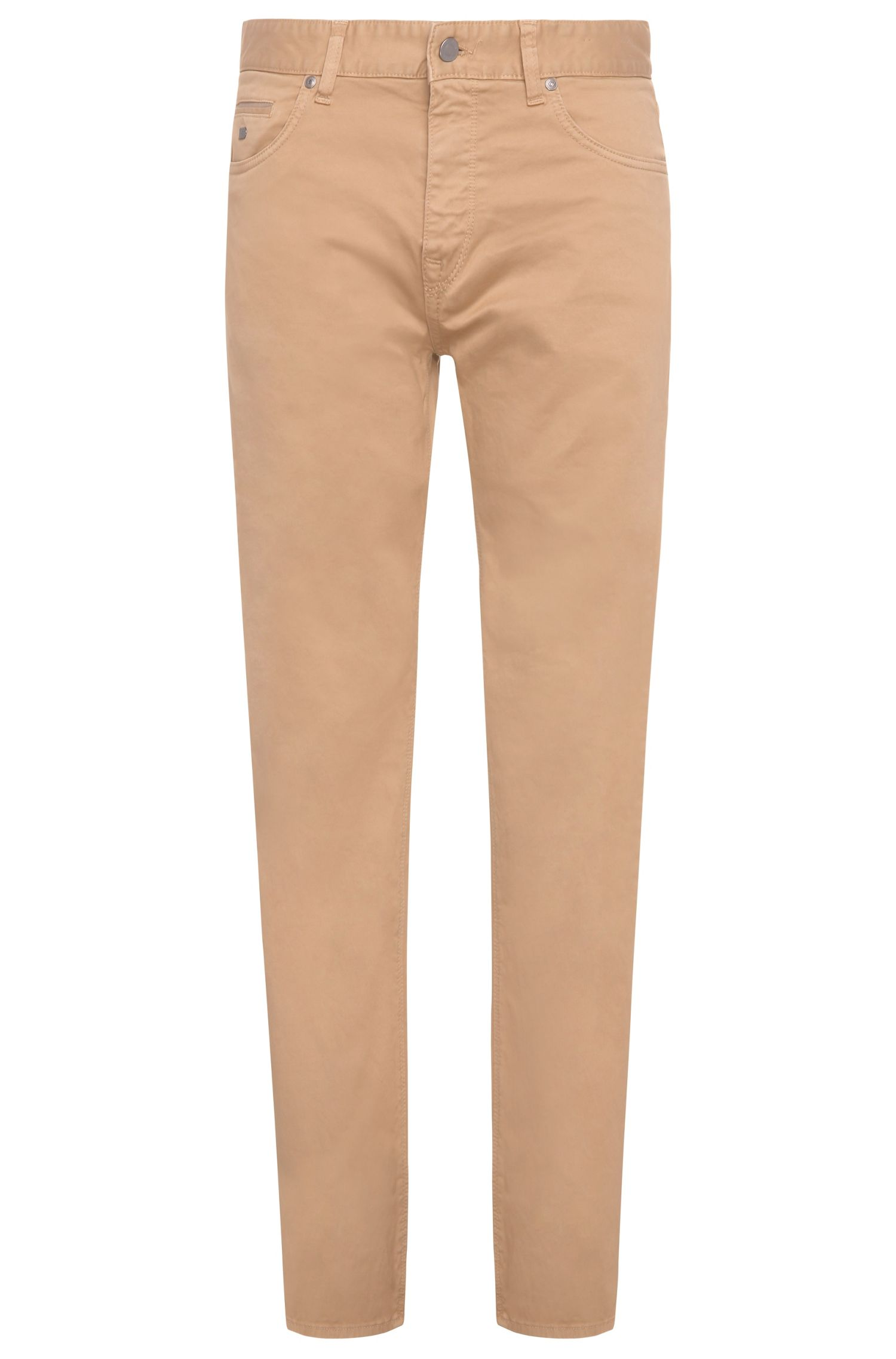 Regular-fit trousers in stretch cotton: 'C-Maine1-1-20'