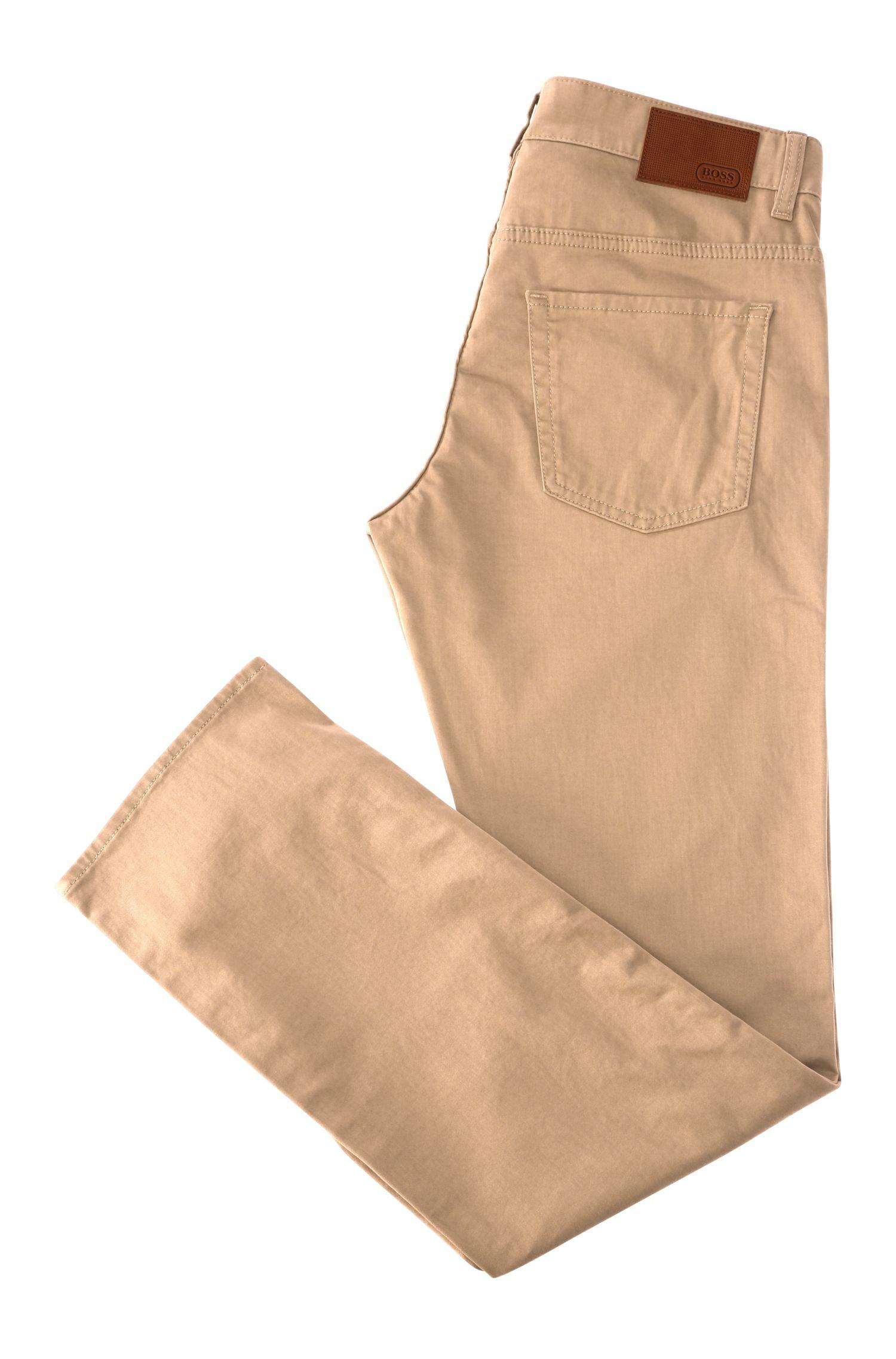 Slim-Fit Hose aus elastischer Baumwolle: ´C-Delaware2-20`