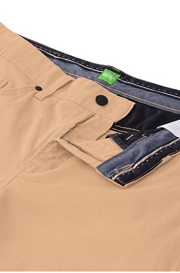 Slim-Fit Hose aus elastischer Baumwolle: ´C-Delaware2-20`, Beige