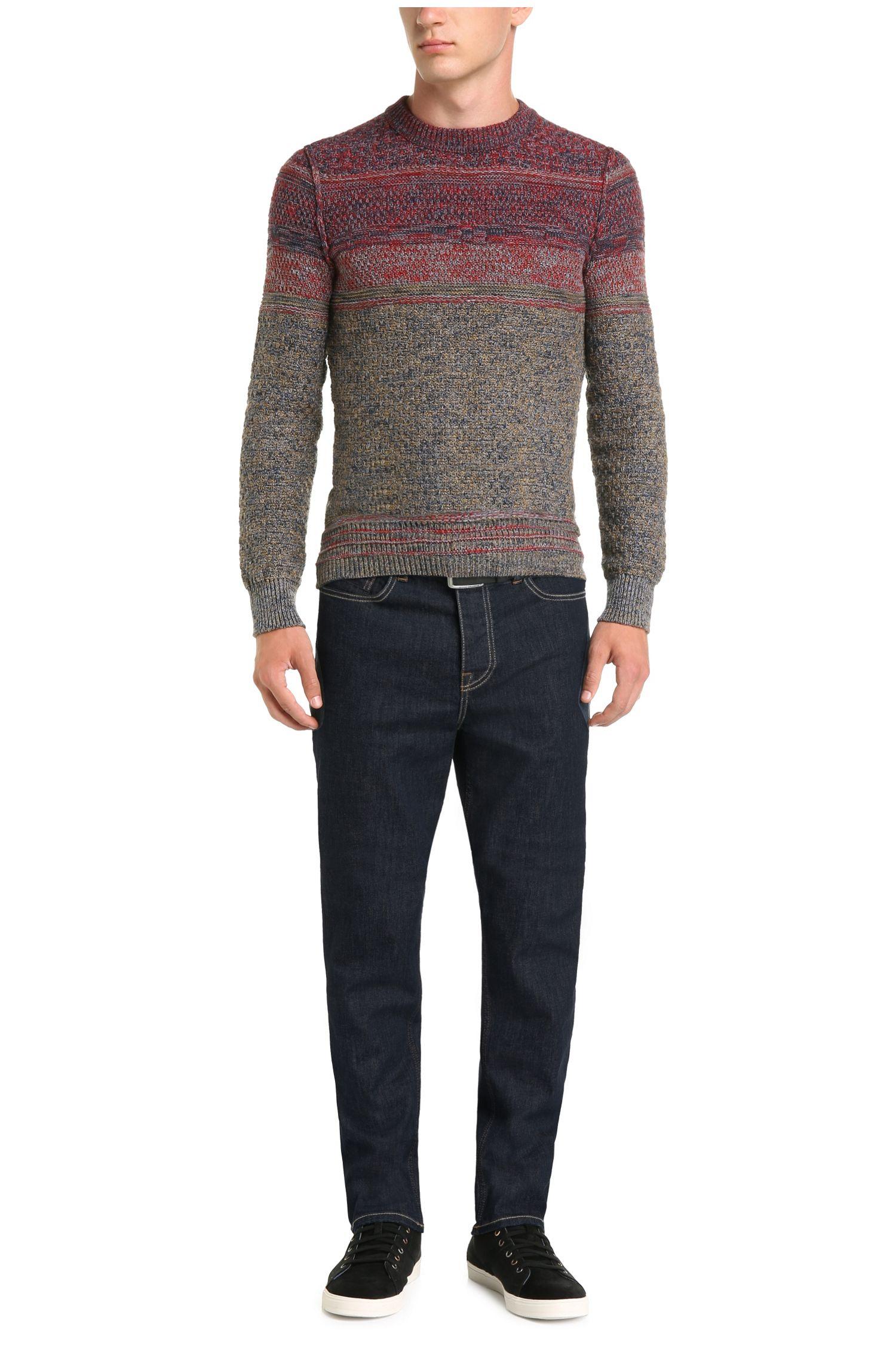 Jeans Comfort Fit en coton extensible: «Orange39»