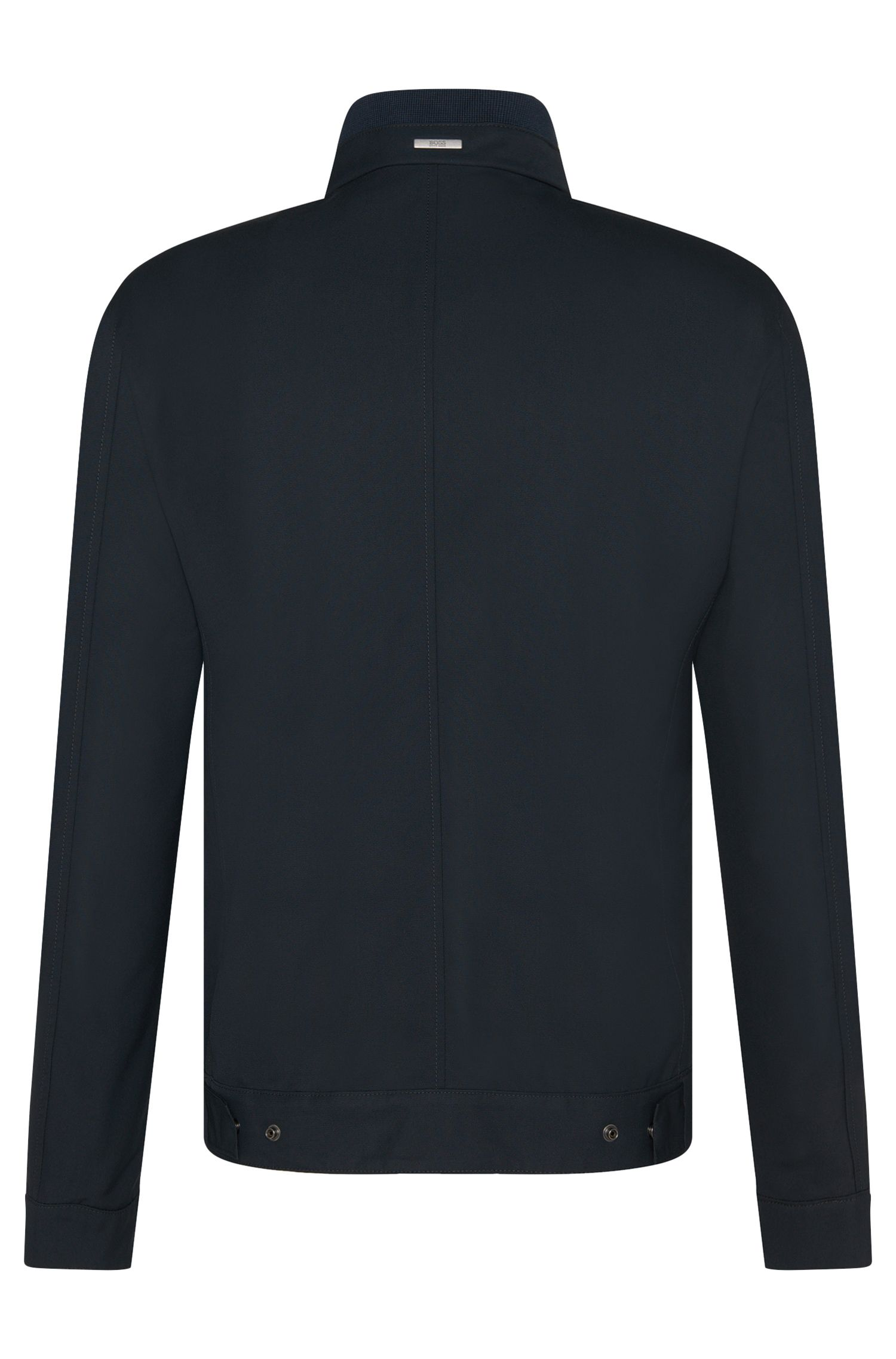 Unifarbene Regular-Fit Jacke: 'Conren'