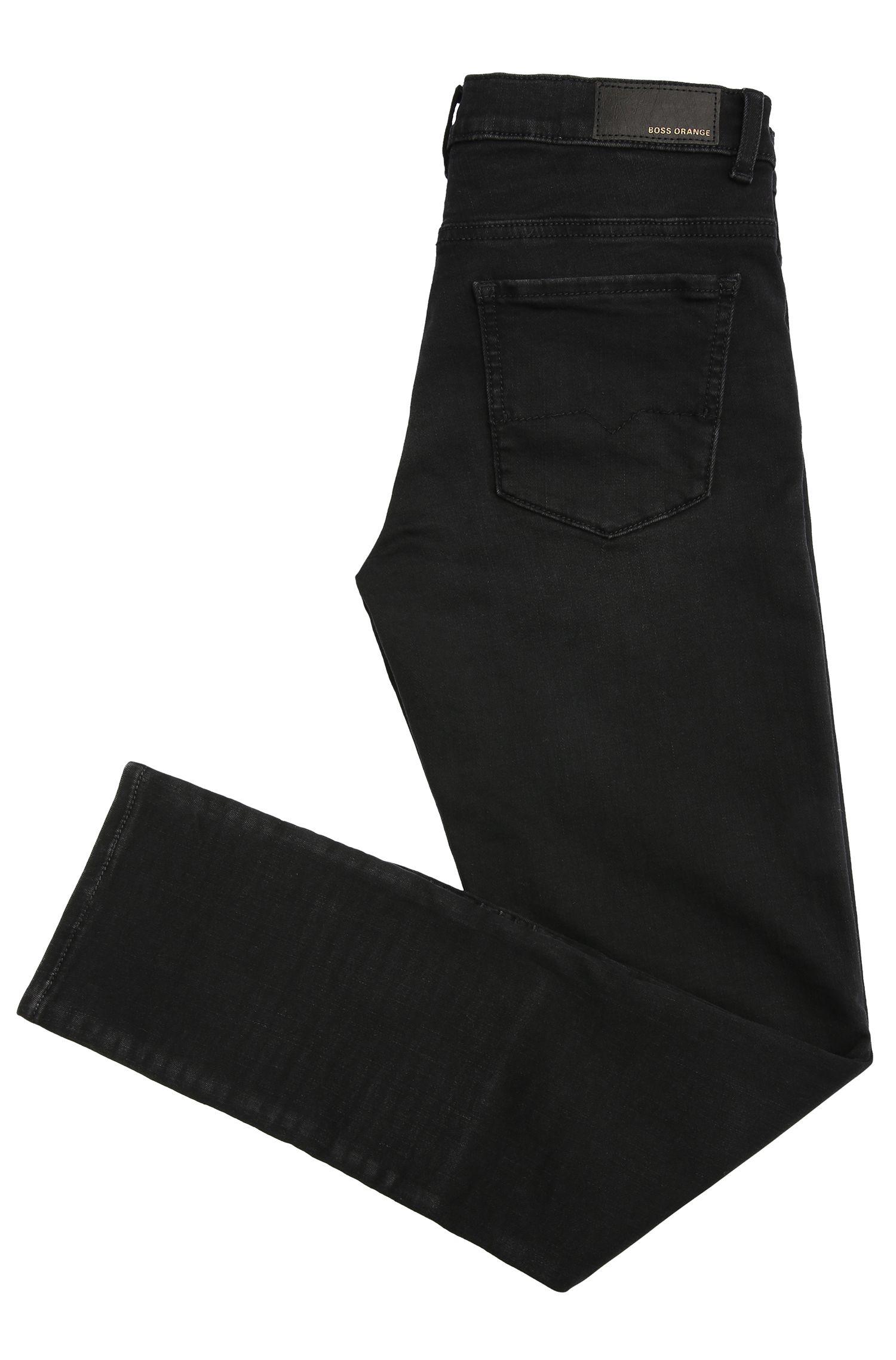 Slim-Fit Biker-Jeans aus elastischem Baumwoll-Mix: ´Orange J20 Dundee`