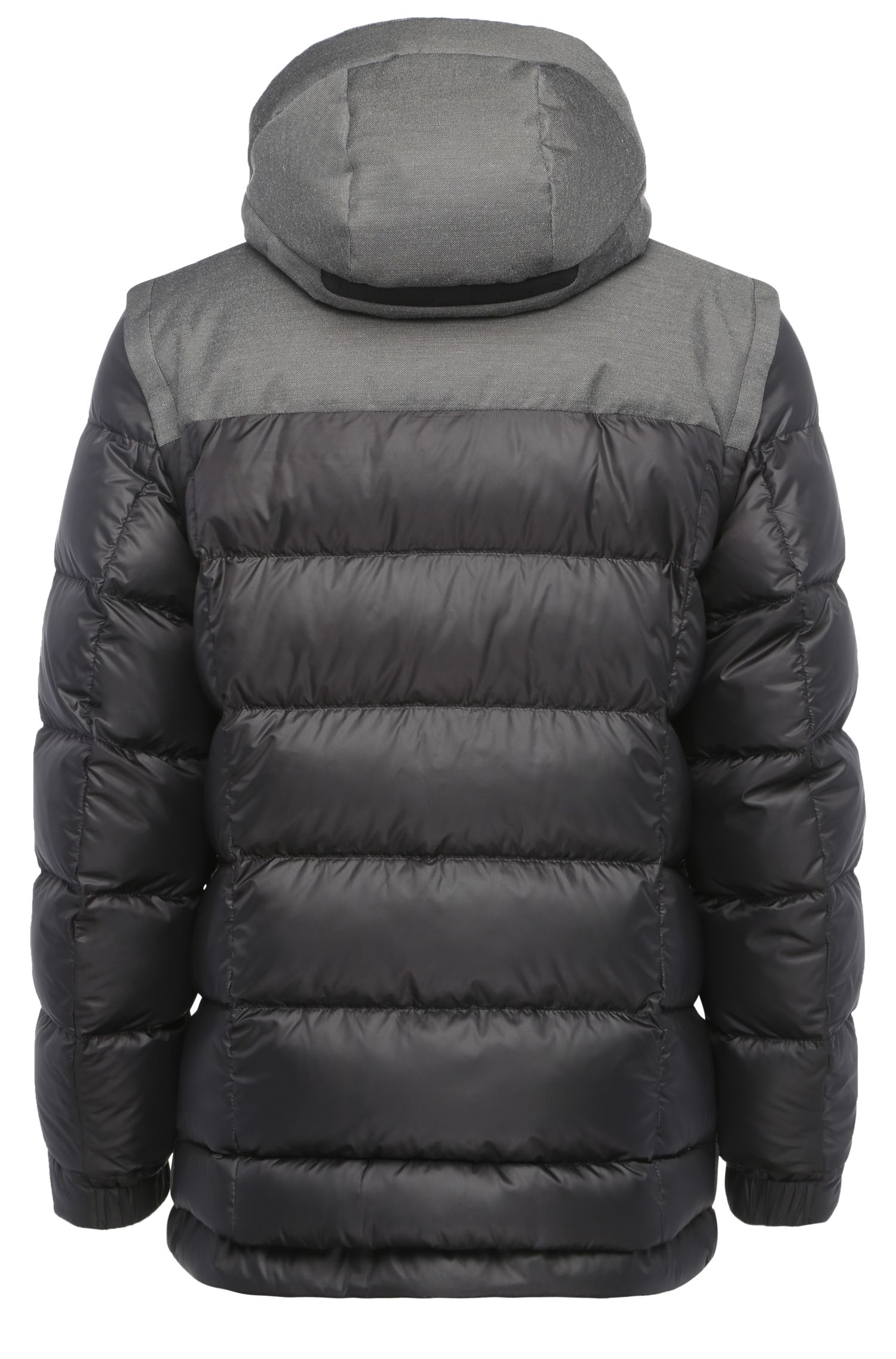 Daunengefütterte Outdoor-Jacke mit abnehmbaren Ärmeln: ´Jiandro`
