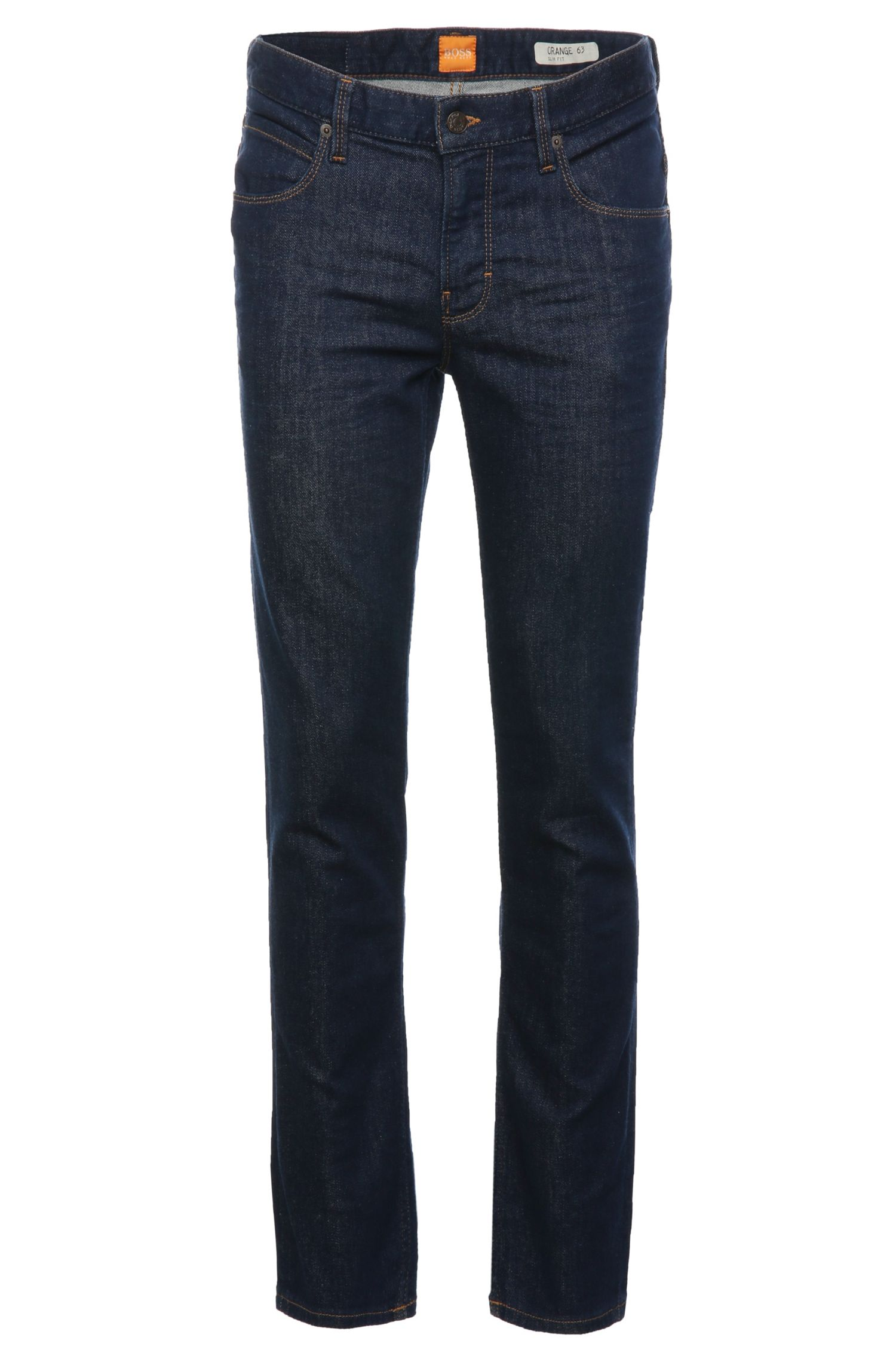 Jeans slim fit in misto cotone elasticizzato: 'Orange63'