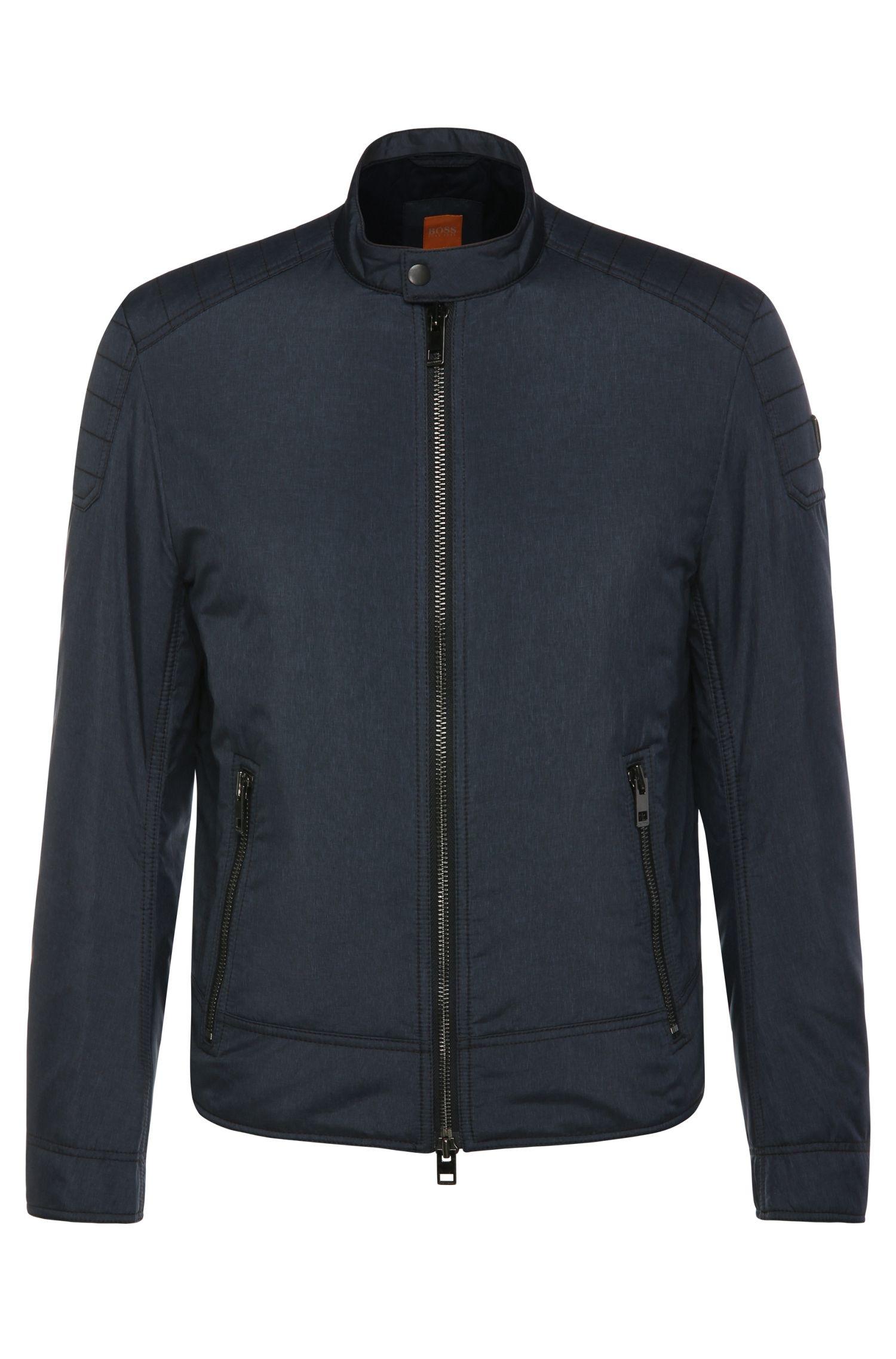 Wasserdichte Outdoor-Jacke im Biker-Stil: ´Oryder`