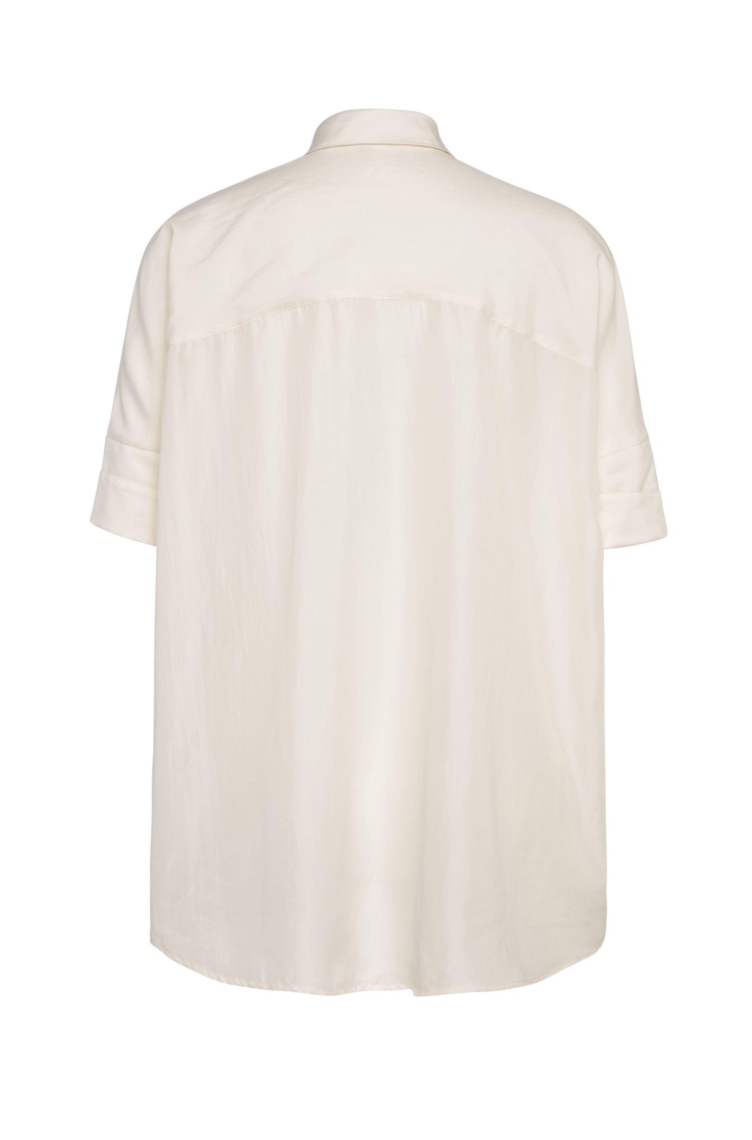 Weite Bluse aus Seide: ´Clen`