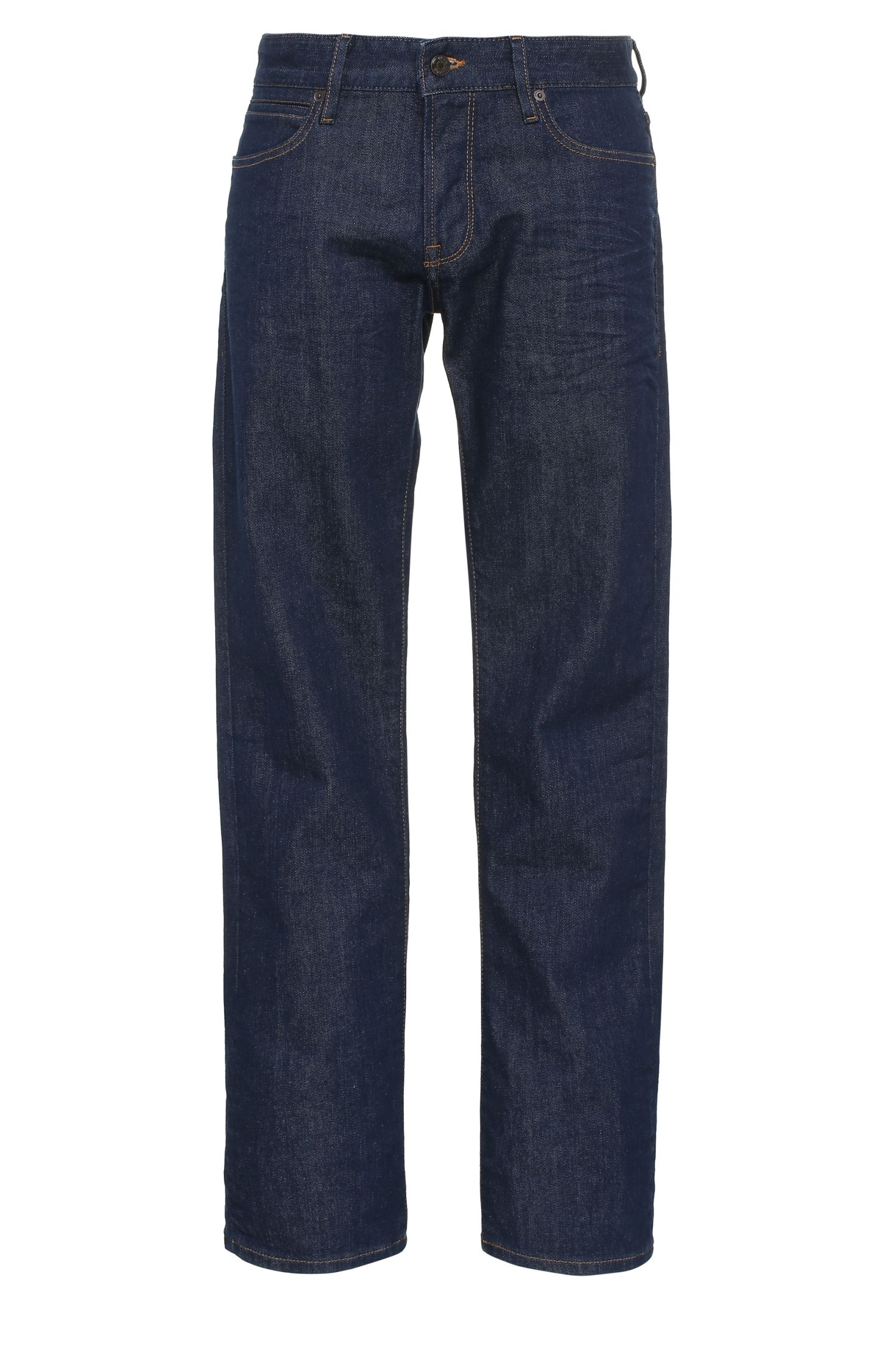 Regular-Fit Jeans aus elastischem Baumwoll-Mix: ´Orange24 Barcelona`