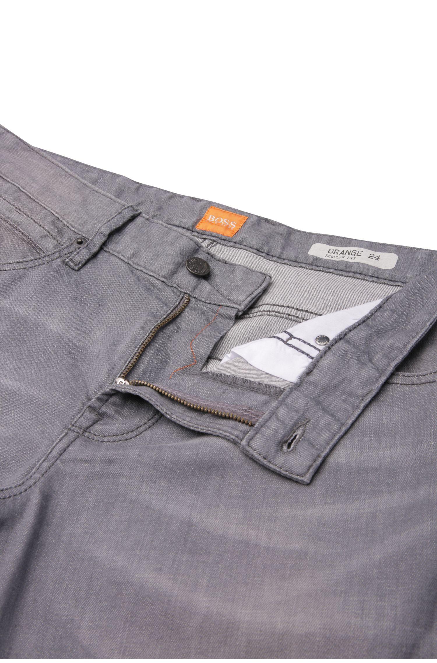 Regular-Fit Jeans aus elastischer Baumwolle: ´Orange24 Barcelona`