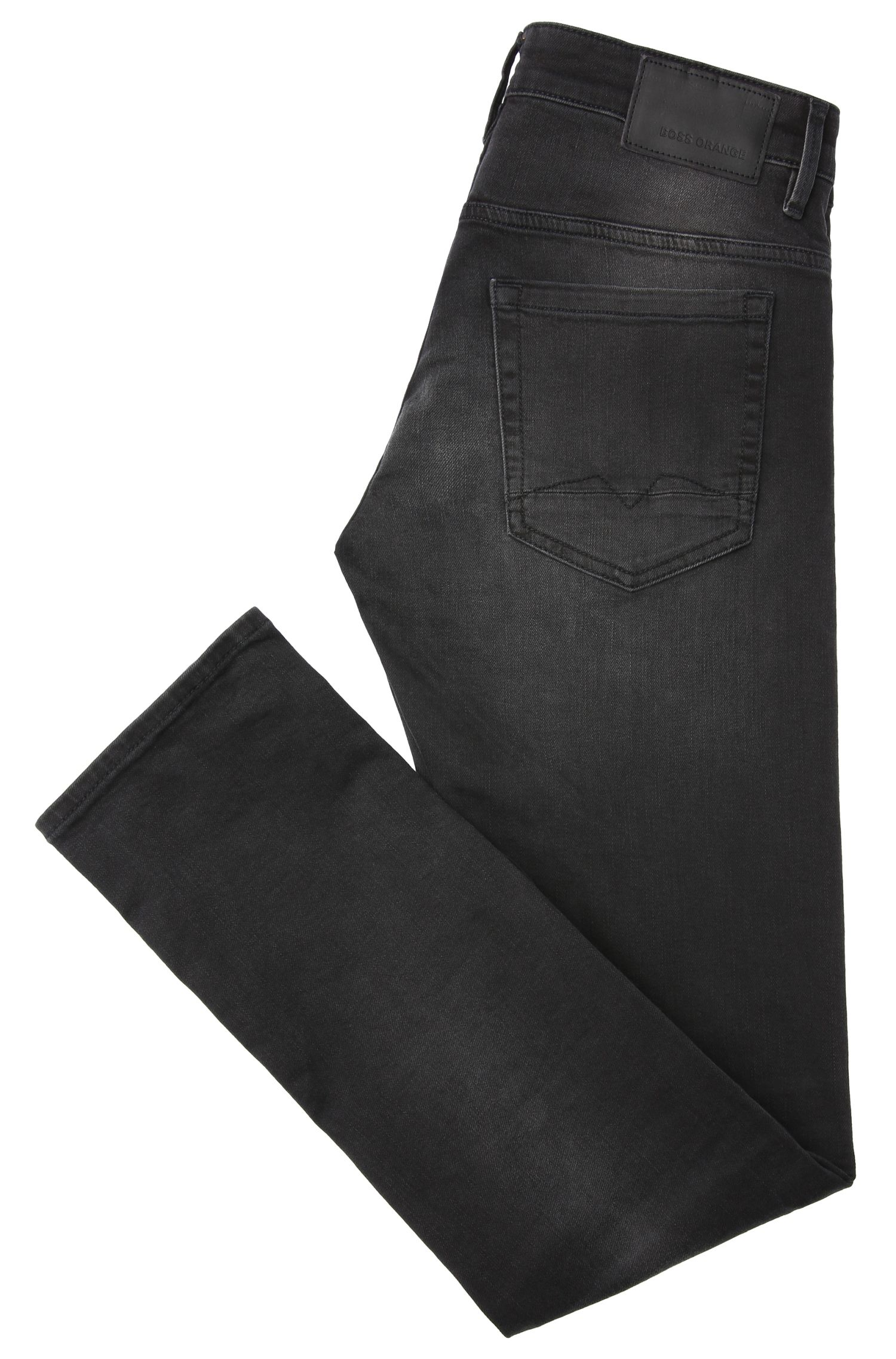 Verwaschene Skinny-Fit Jeans aus elastischem Baumwoll-Mix: ´Orange72`