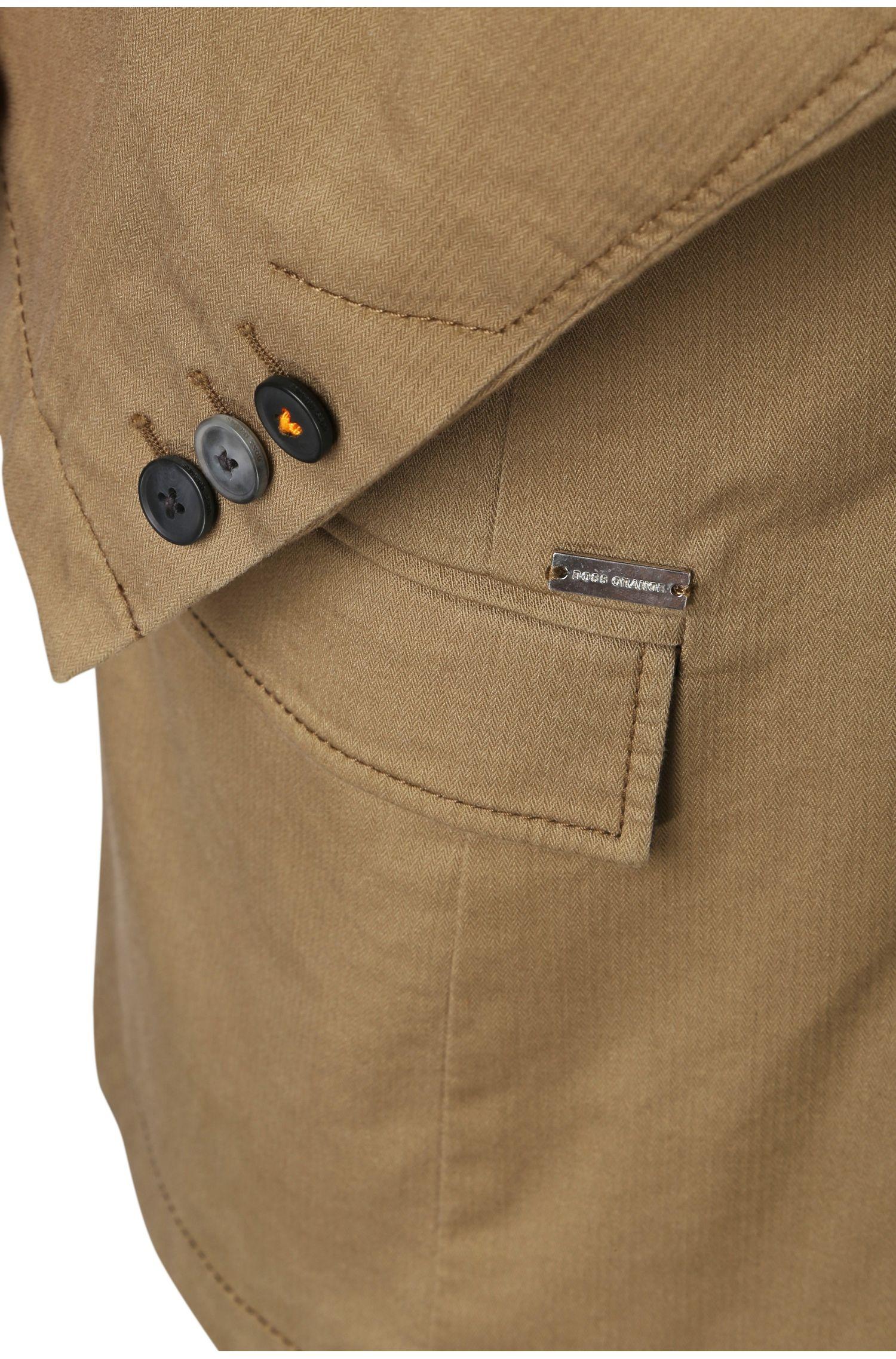 Slim-Fit Sakko aus elastischer Baumwolle: ´Benestretch5-W`
