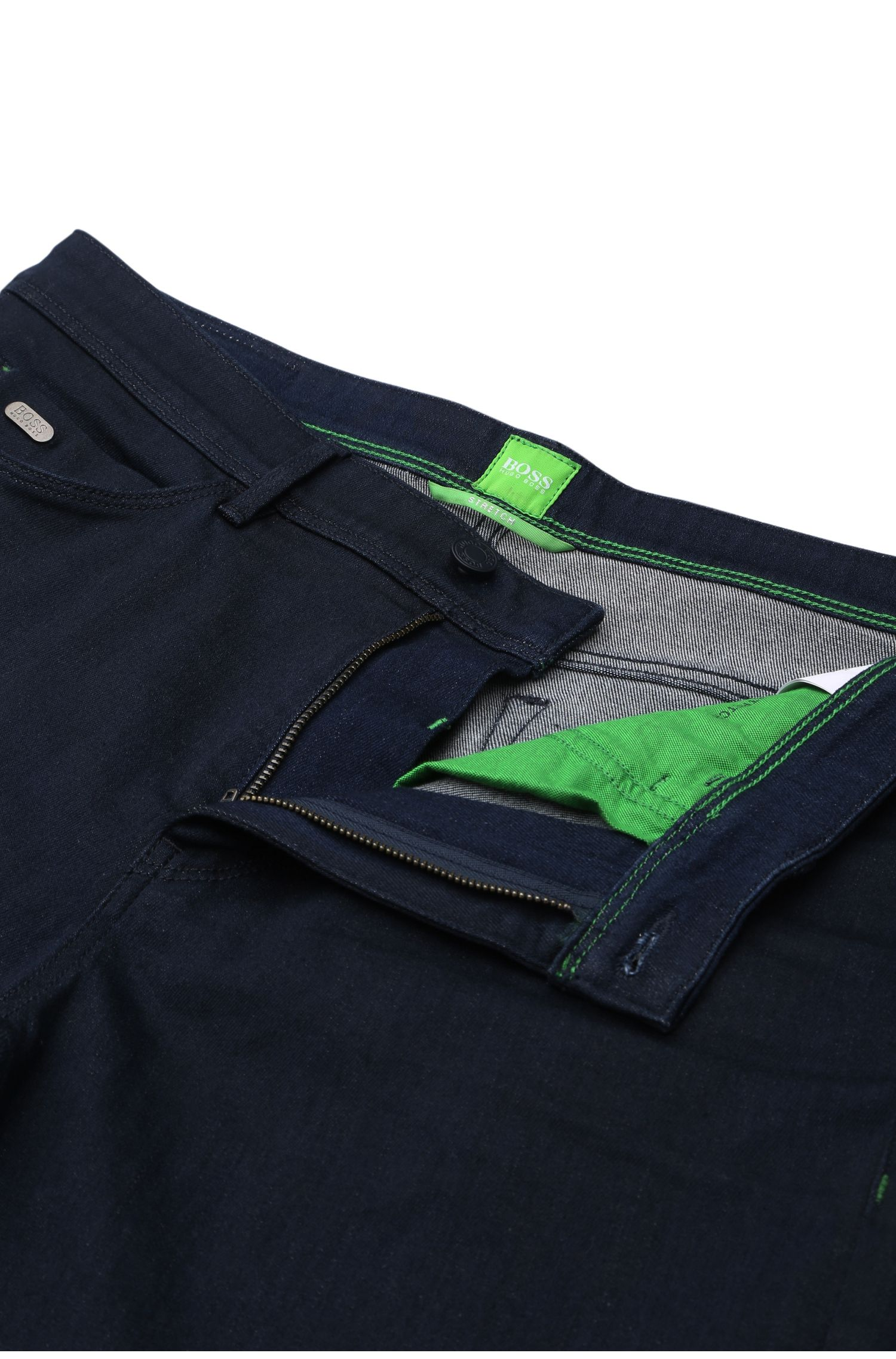 Jeans Tapered Fit en denim très extensible : « Derek »