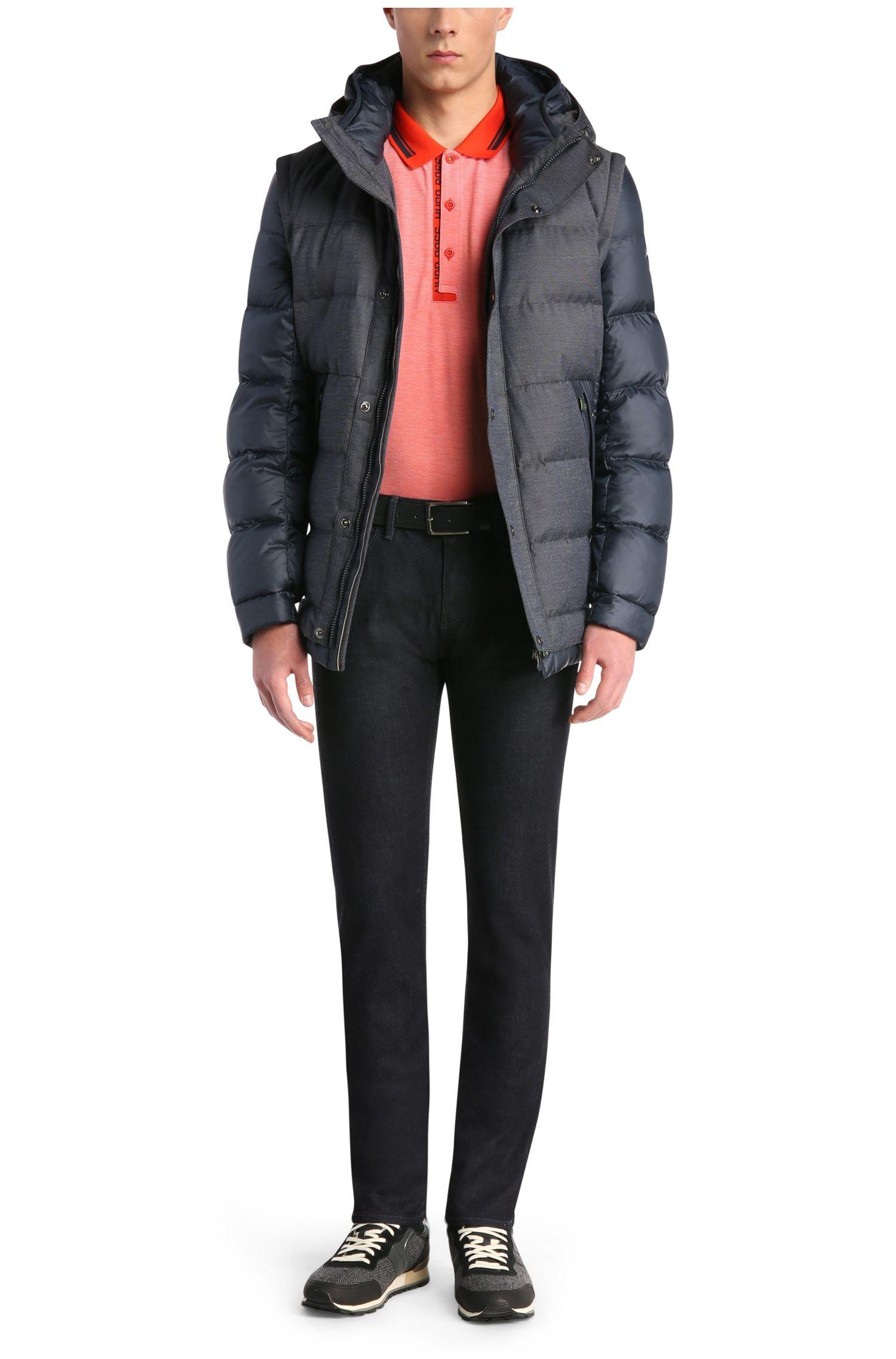 Jeans extra Slim Fit en coton mélangé extensible: «Dayan»