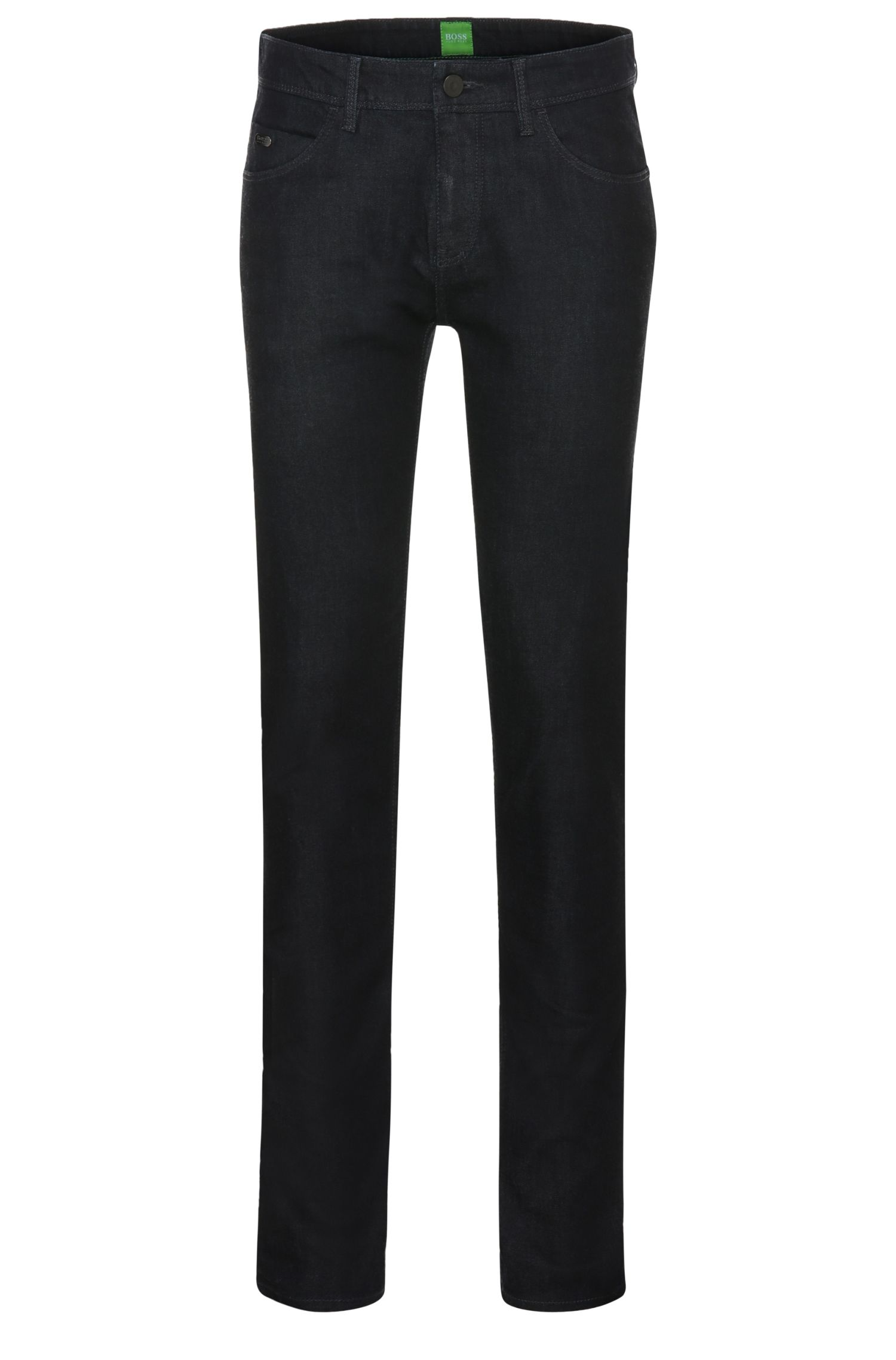 Extra-slim-fit jeans in stretch cotton blend: 'Dayan'