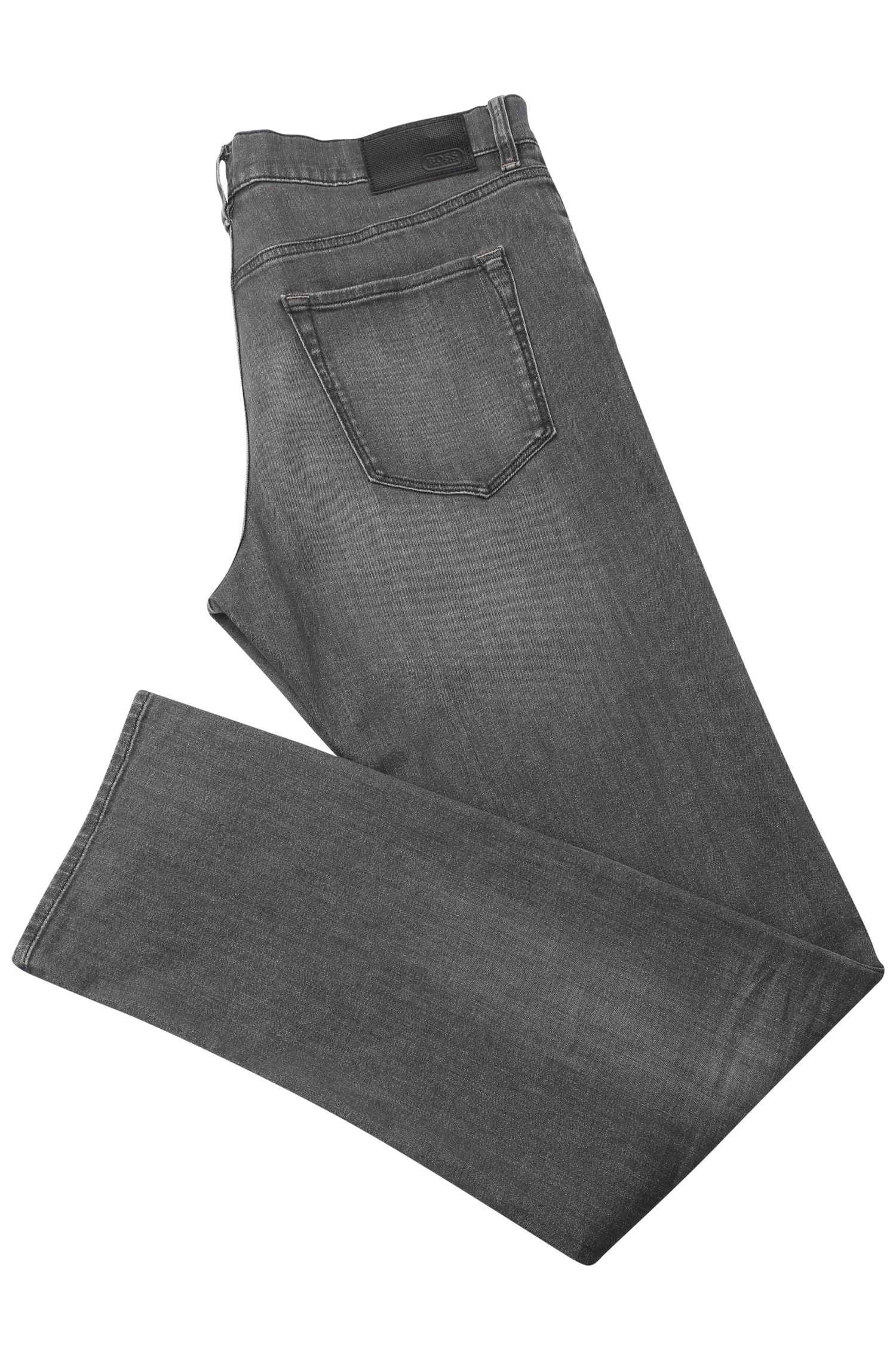Regular-Fit Jeans aus elastischer Baumwolle: ´C-Maine1`