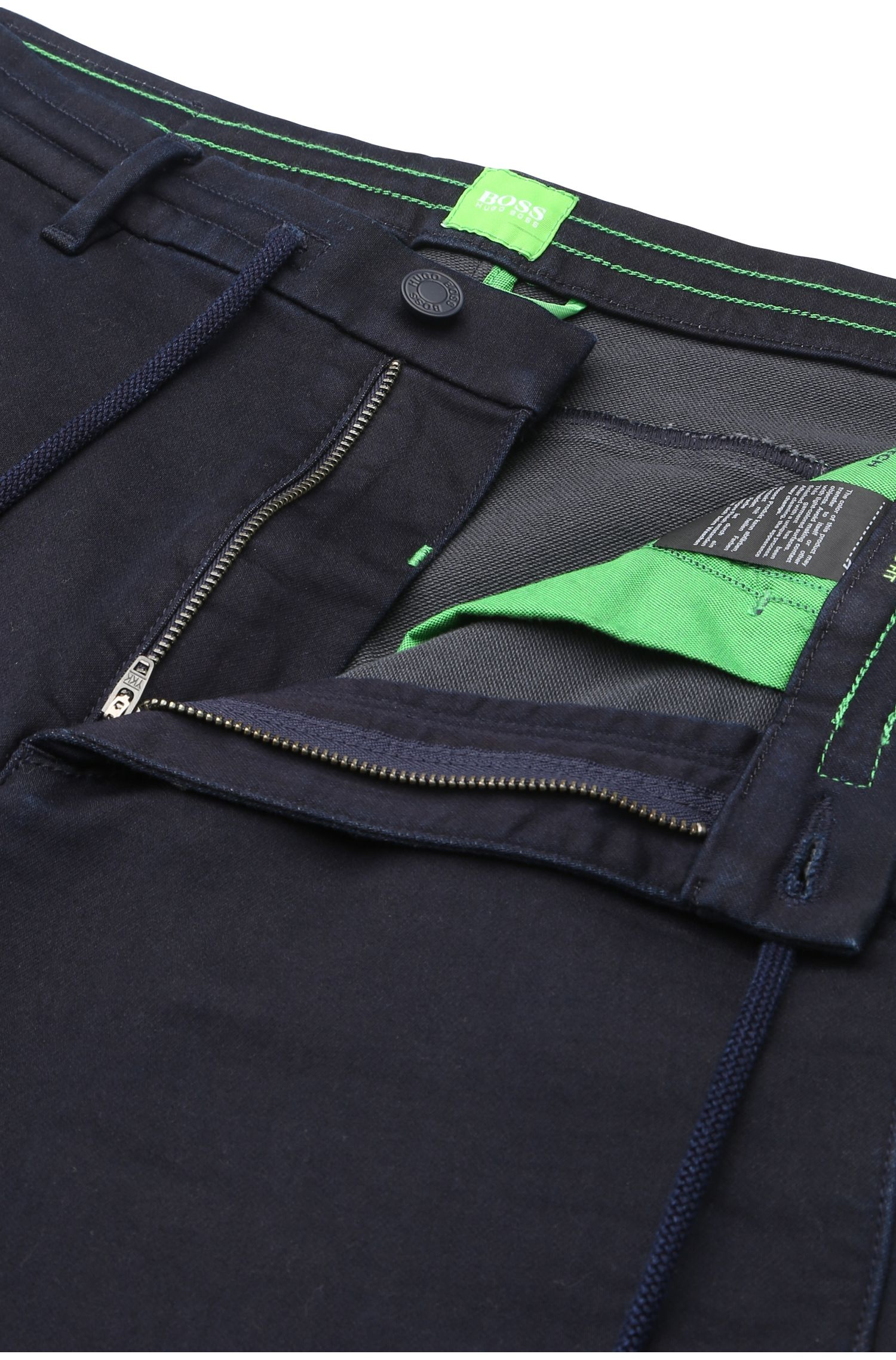 Tapered-fit jeans in jogg-denimstijl: 'Darrel3'