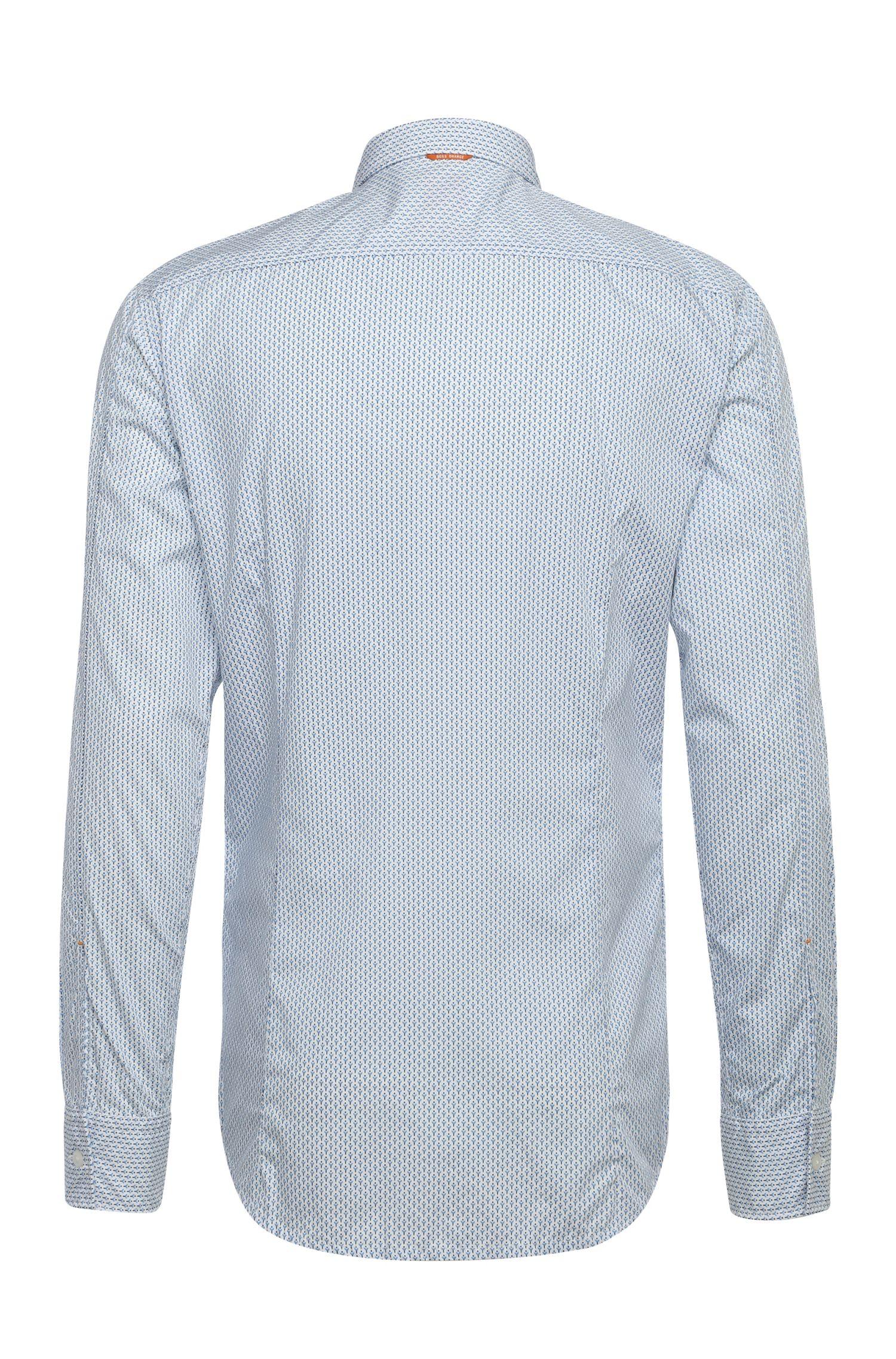 Chemise en coton Slim Fit à motif: «EdipoE»