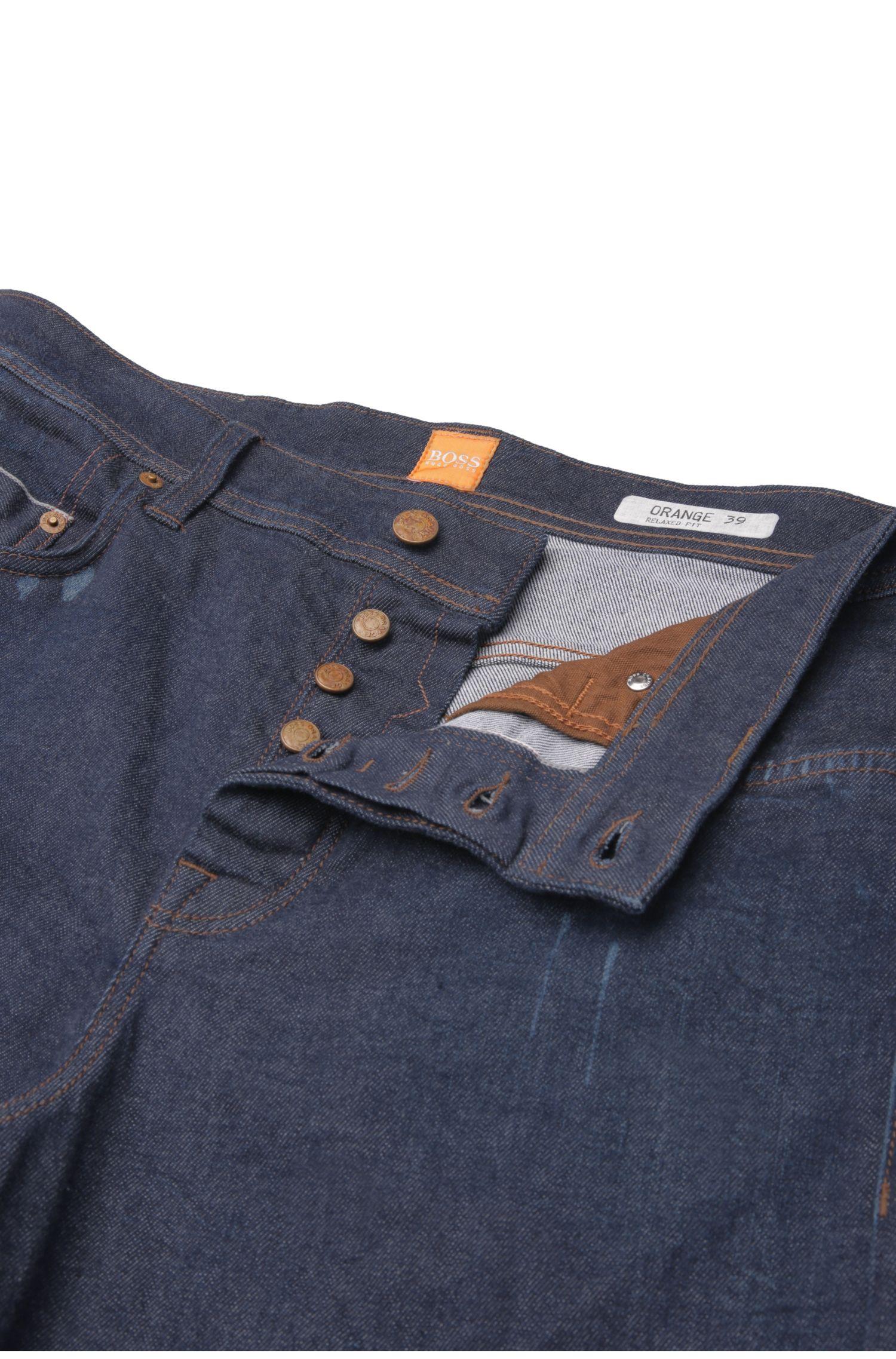 Un jeans à la coupe décontractée en coton stretch: «Orange39 Selvedge»