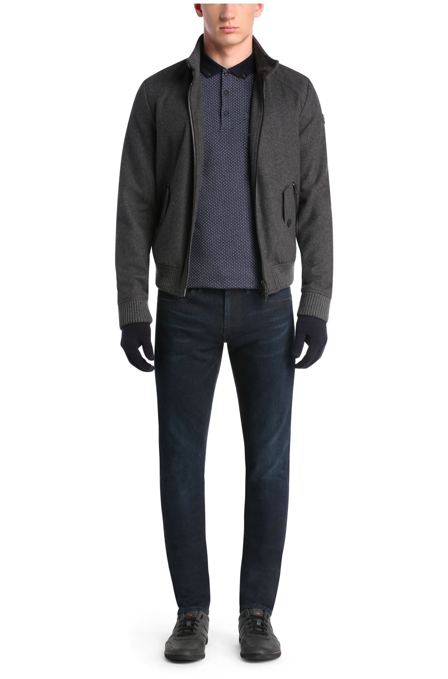 Skinny-Fit Jeans aus elastischem Baumwoll-Mix: ´Orange72`