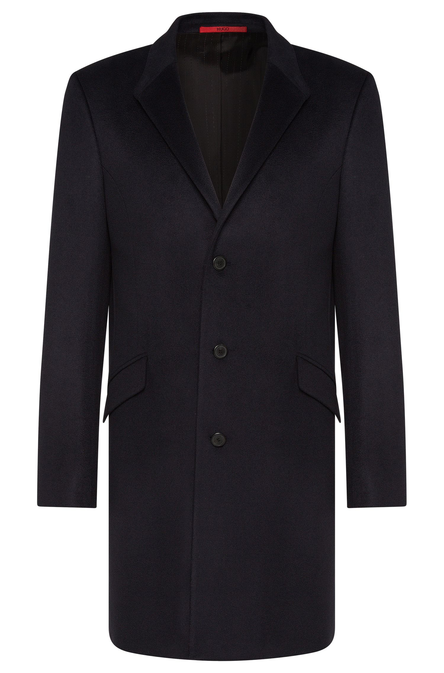 Cappotto slim fit in puro cashmere: 'Atlyn'
