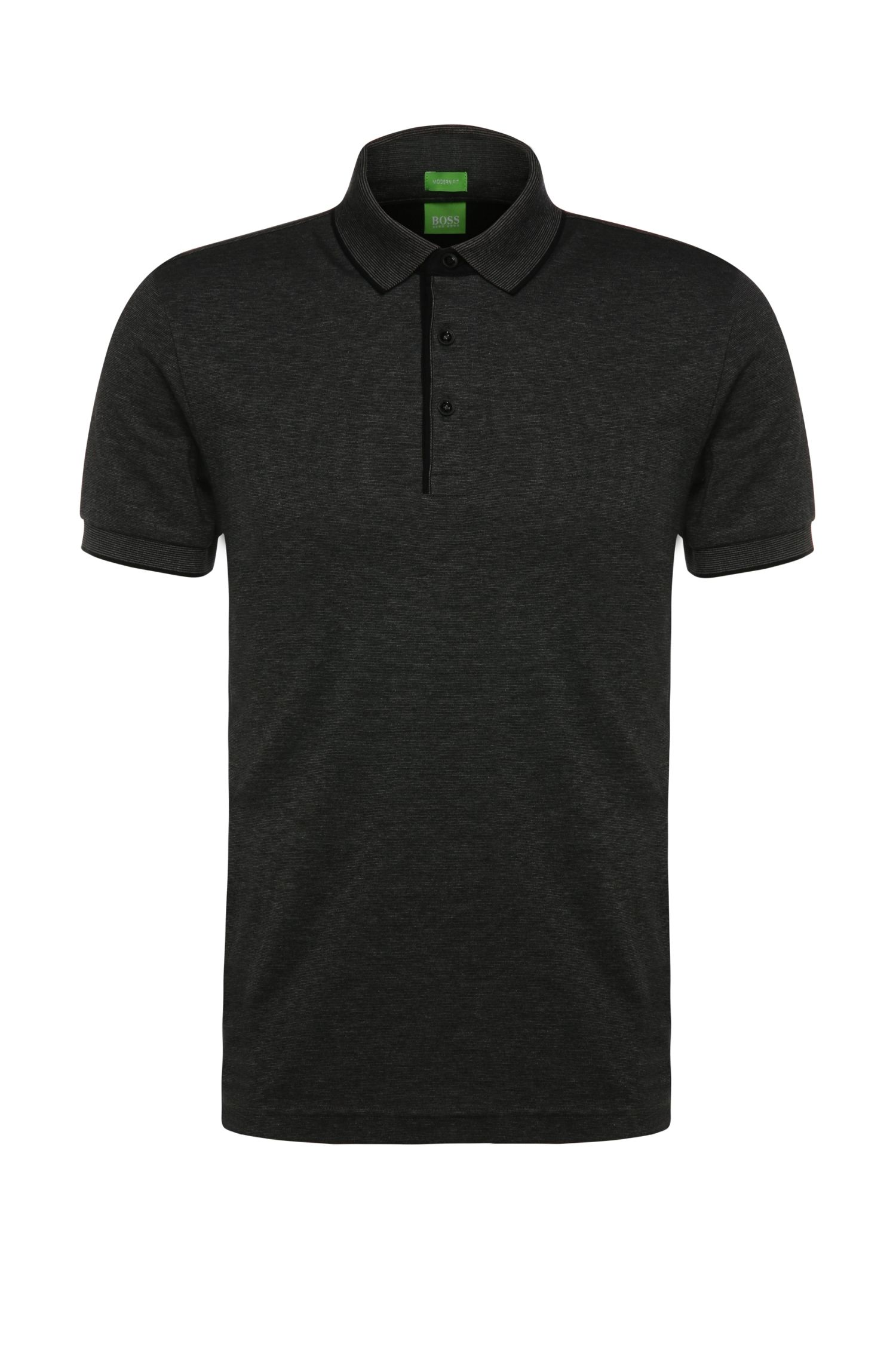 Polo Regular Fit en coton : « C-Janis »