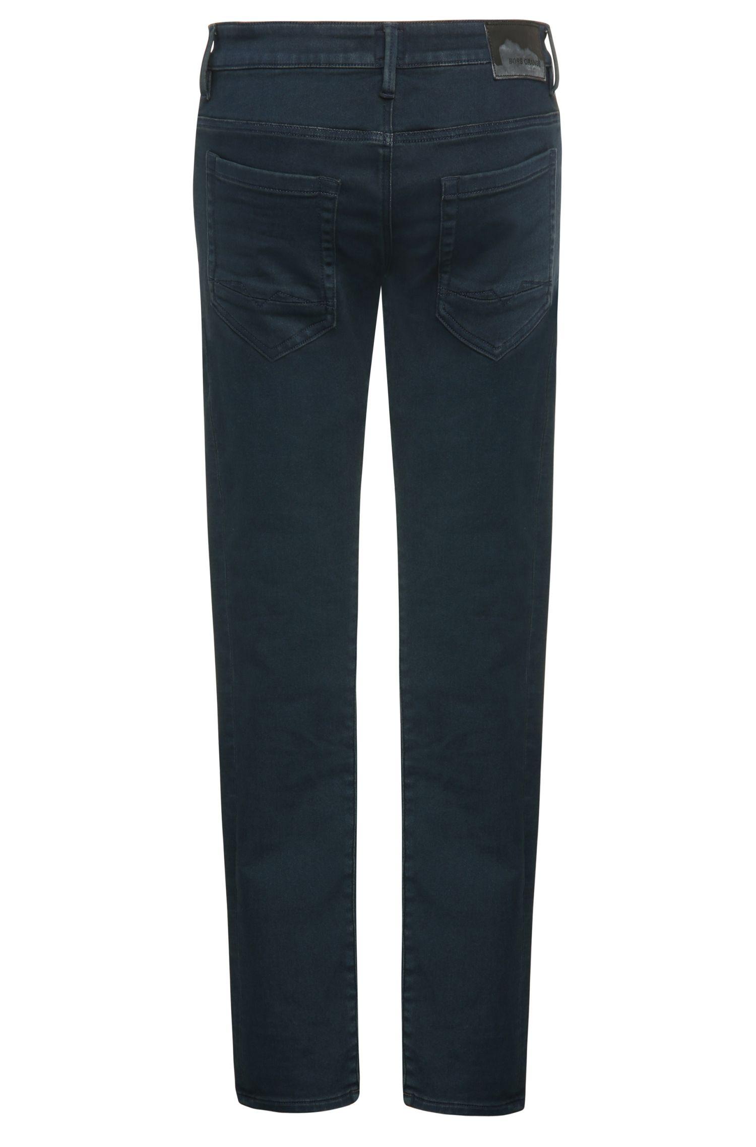 Jeans Slim Fit en coton mélangé extensible: «Orange72»