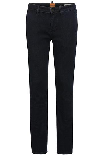 Slim-Fit Jeans aus elastischem Baumwoll-Mix: ´Orange63 Chester`, Dunkelblau