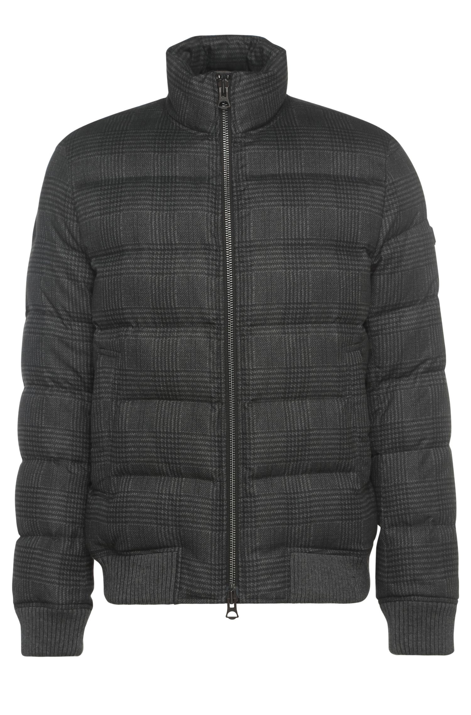 Lined and quilted blouson: 'Okayden'