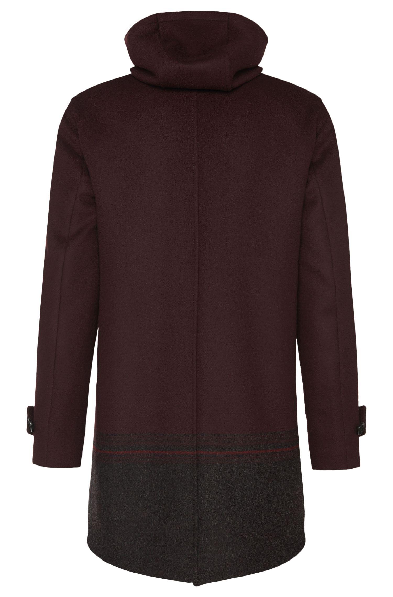 Manteau court Tailored en pure laine vierge: «T-Corlac»