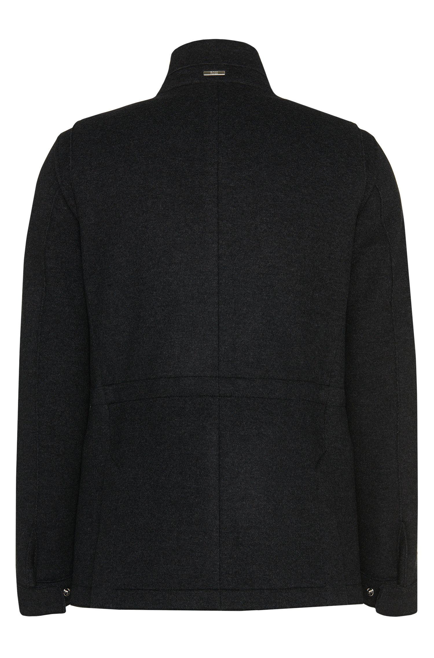 Veste chinée Regular Fit en laine mélangée: «Cayden»