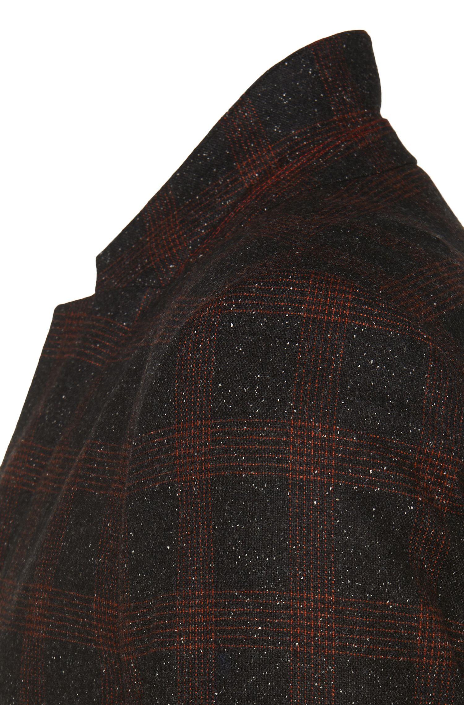 Veste de costume Regular Fit à carreaux en laine vierge: «Arelto»