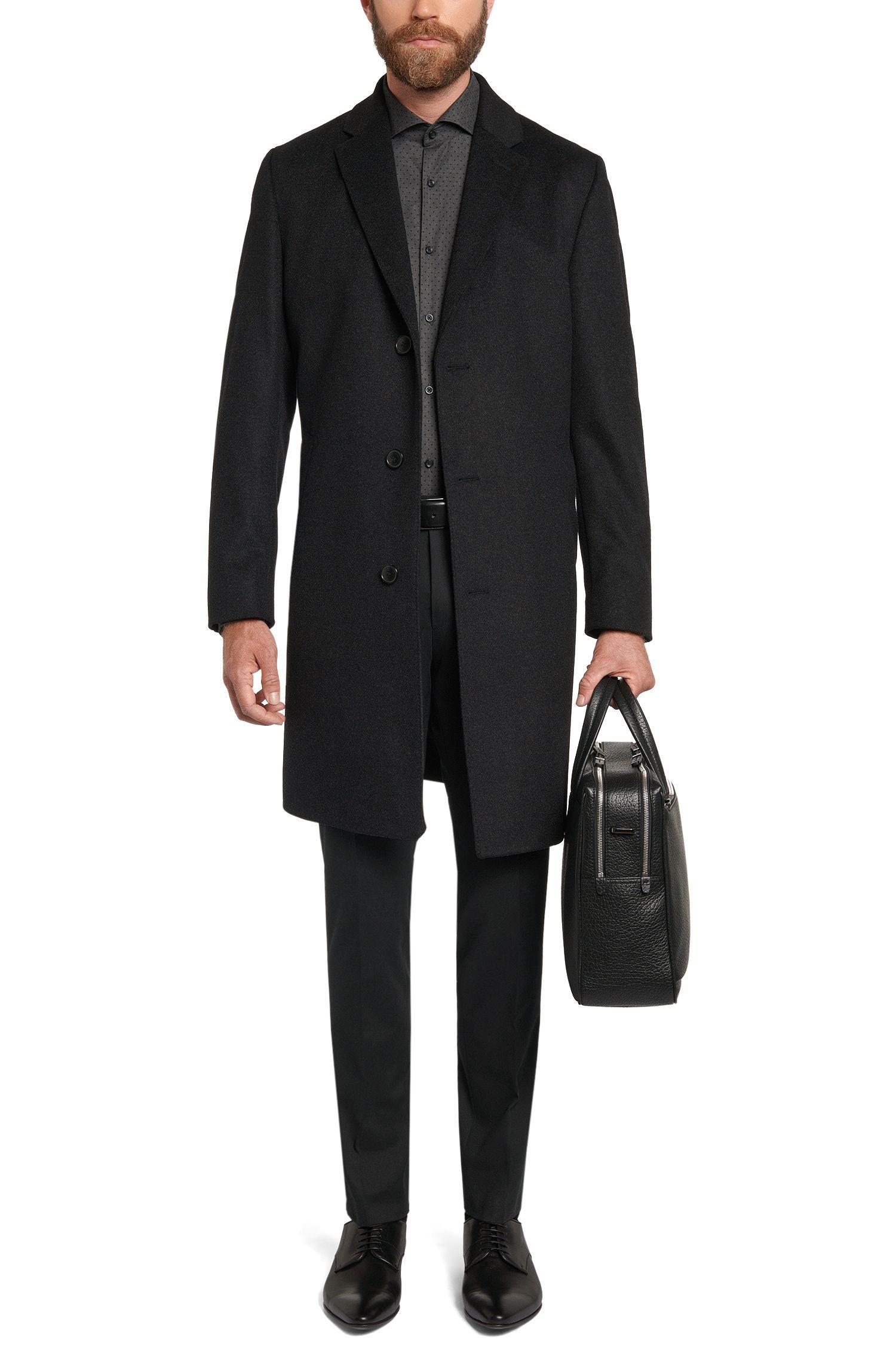 Pantalon Slim Fit en coton stretch: «Heilon»