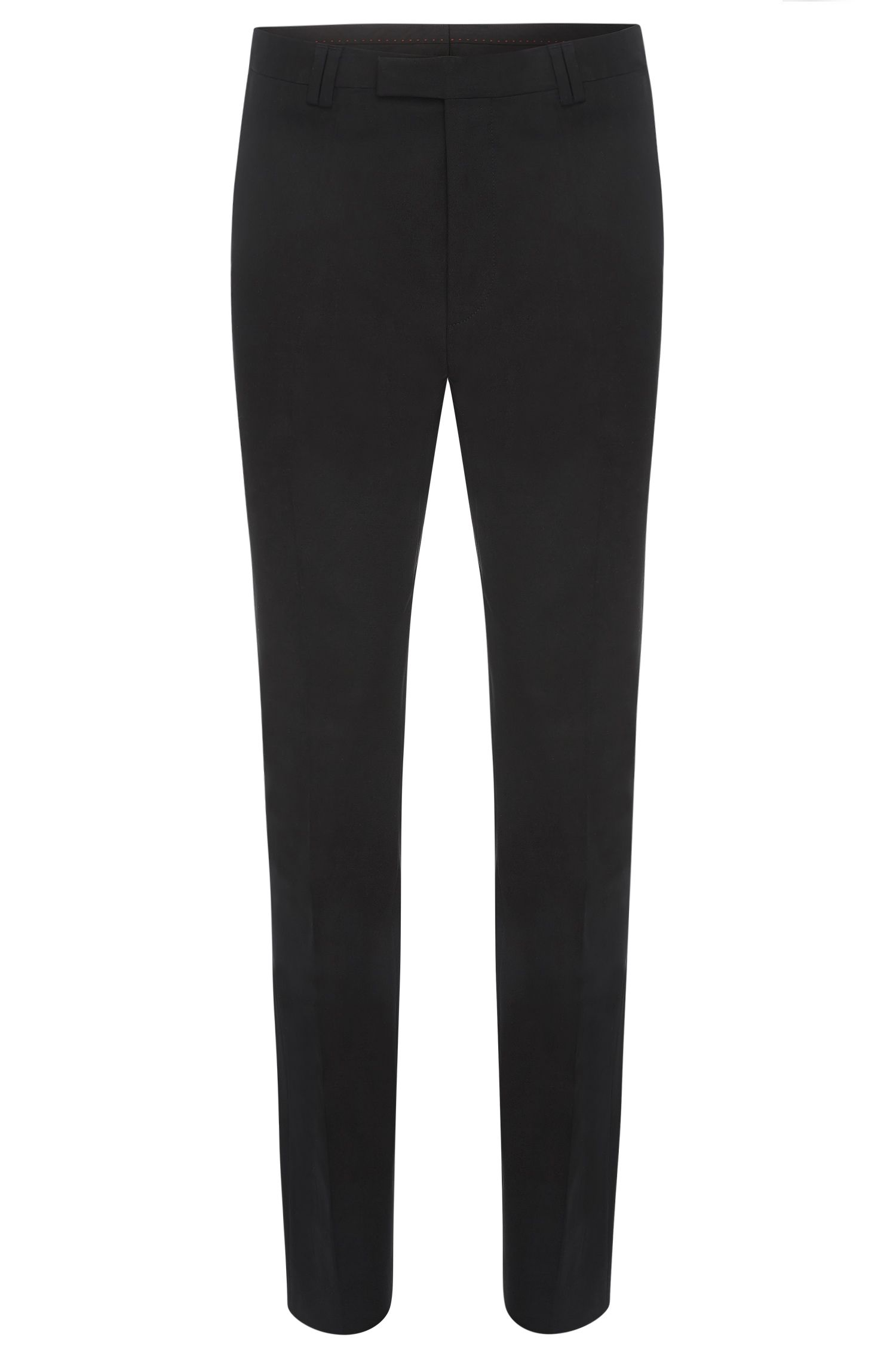 Pantalon Slim Fit en coton stretch : « Heilon »