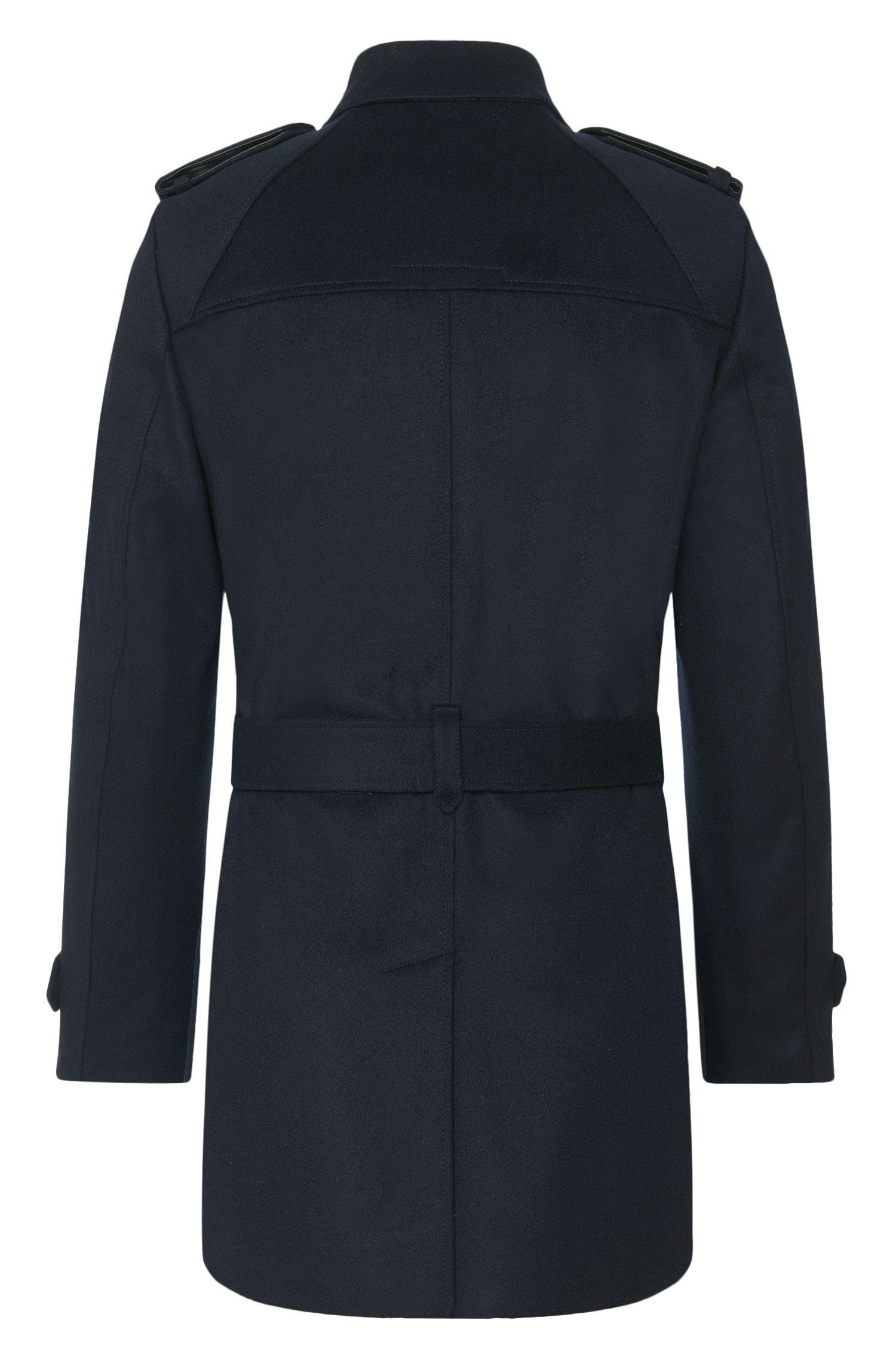 Manteau en laine vierge mélangée, avec du cachemire: «Maxor»