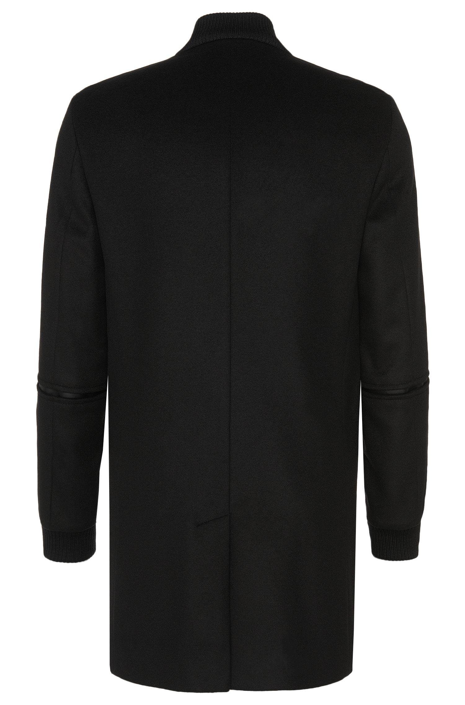 Manteau en laine vierge mélangée à teneur en cachemire: «Mazon»