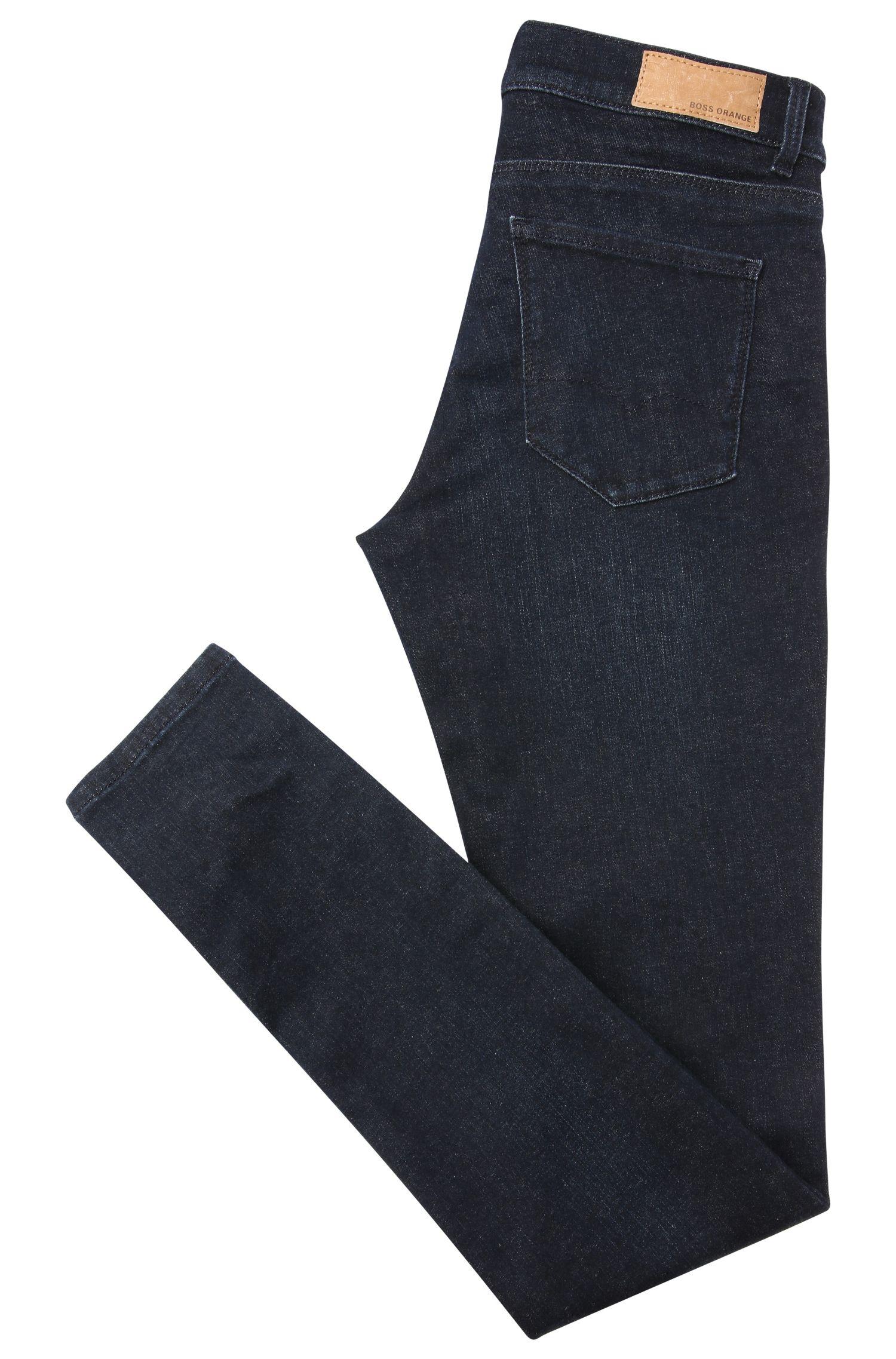 Jeans Slim Fit en coton mélangé extensible: «OrangeJ10»