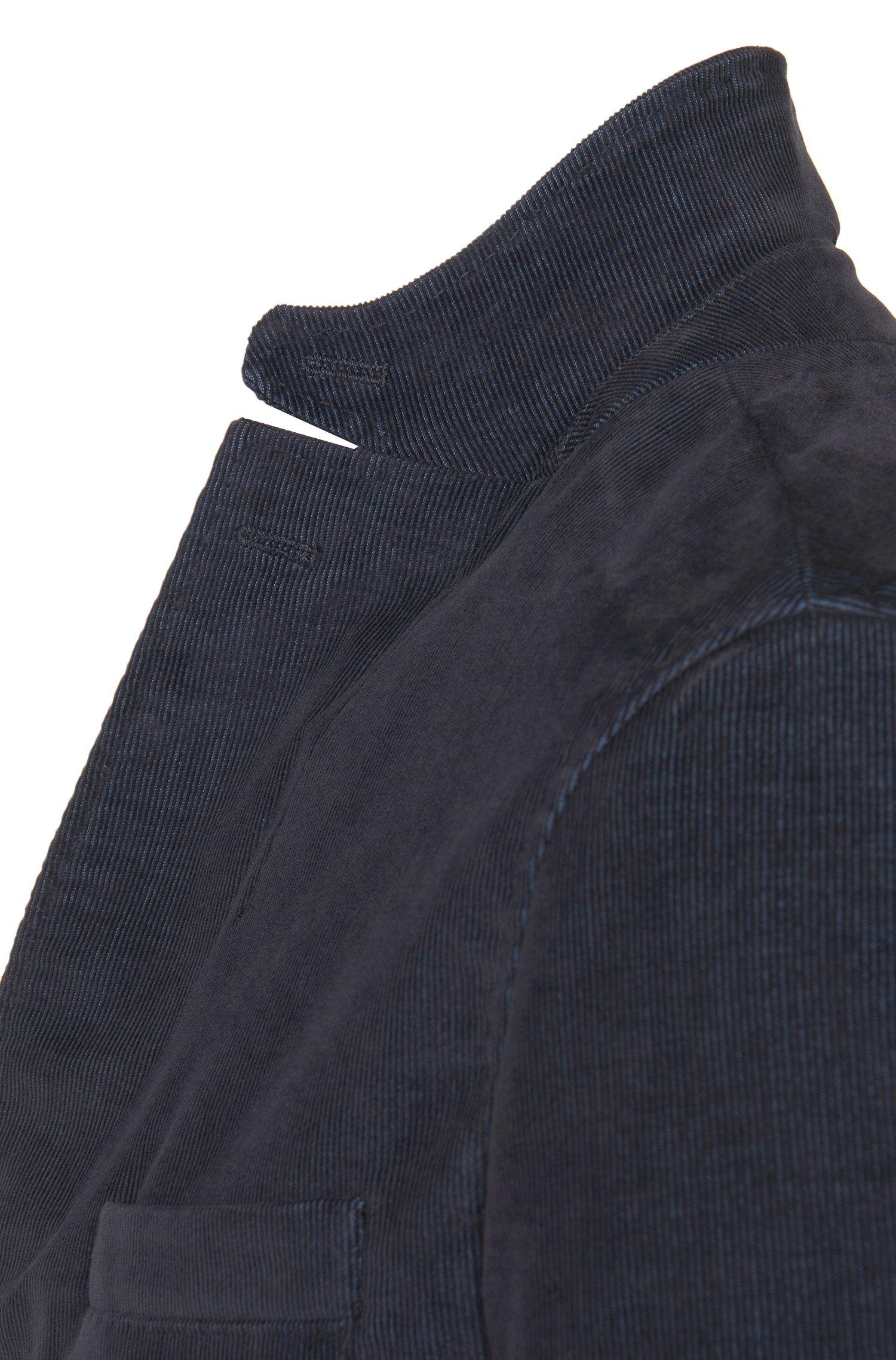 Veste de costume Slim Fit en gabardine de coton mélangé: «Norton-W»