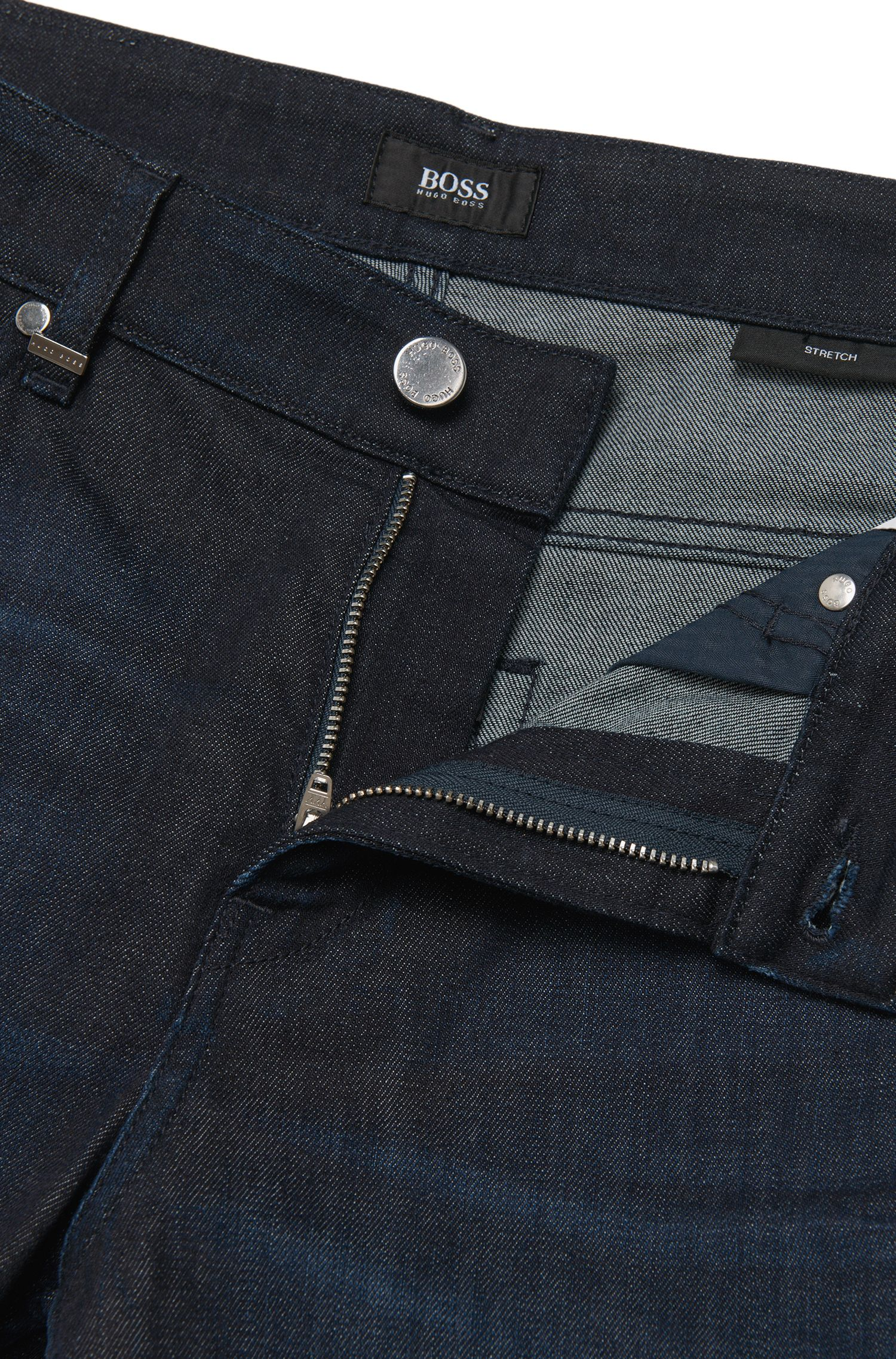 Slim-Fit Jeans aus Stretch-Baumwolle im Five-Pocket-Stil: 'Delaware3'