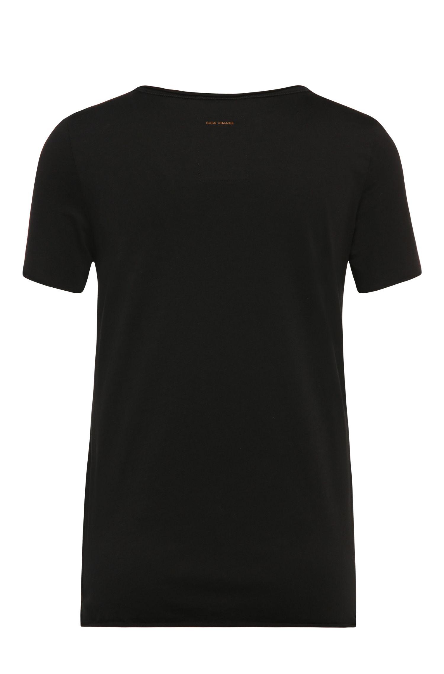 T-shirt imprimé Slim Fit en coton: «Vashirt»
