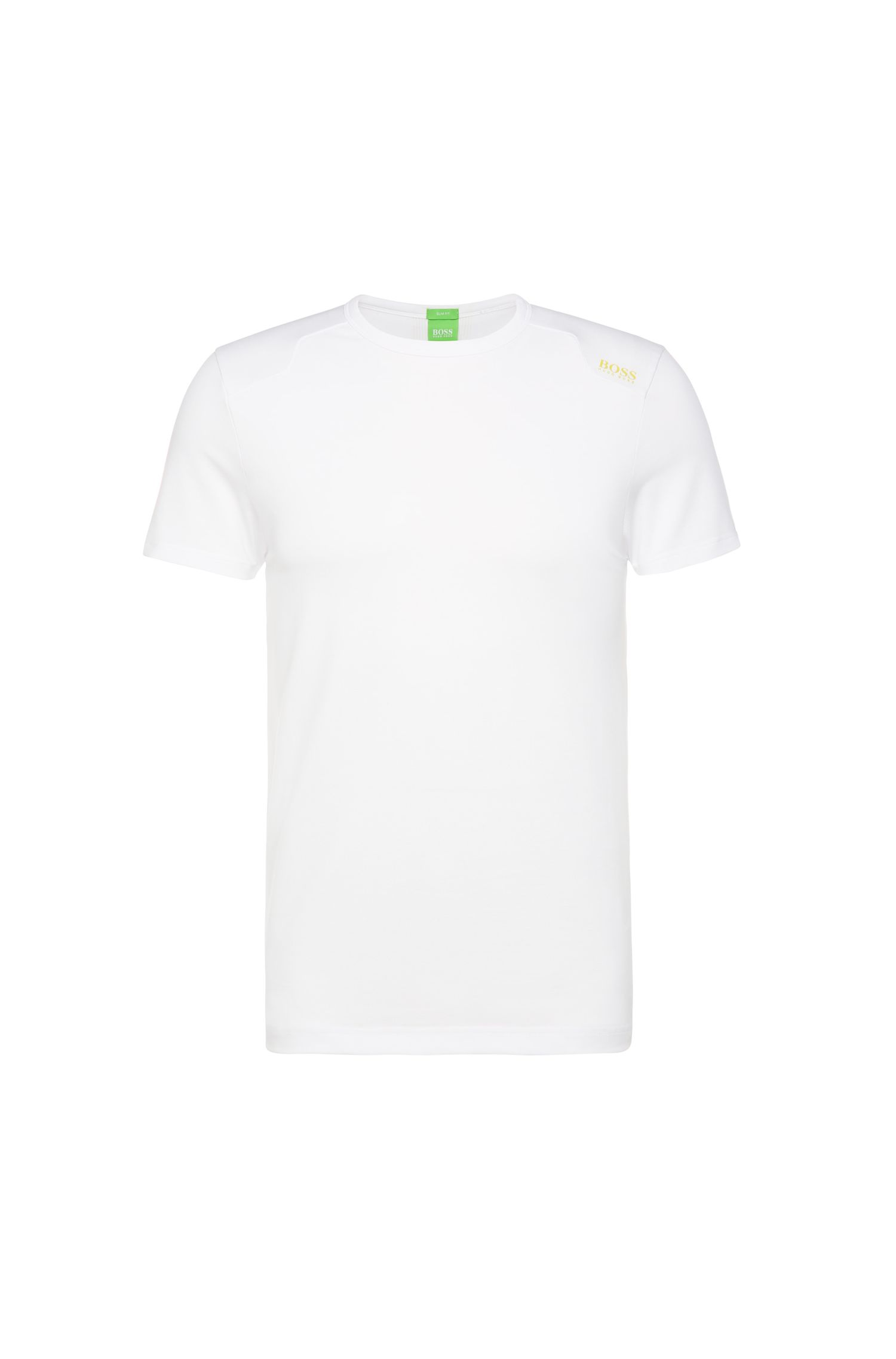 T-shirt fonctionnel Slim Fit en coton mélangé extensible : « Teenox »